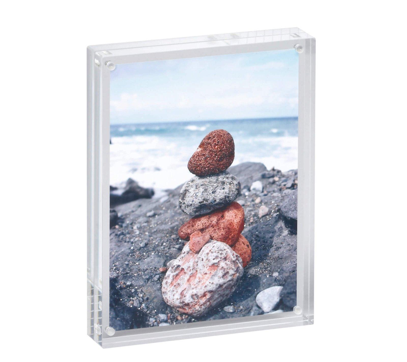 Acryl-Bilderhalter, 15 x 11,5 x 2,4 cm, glasklar