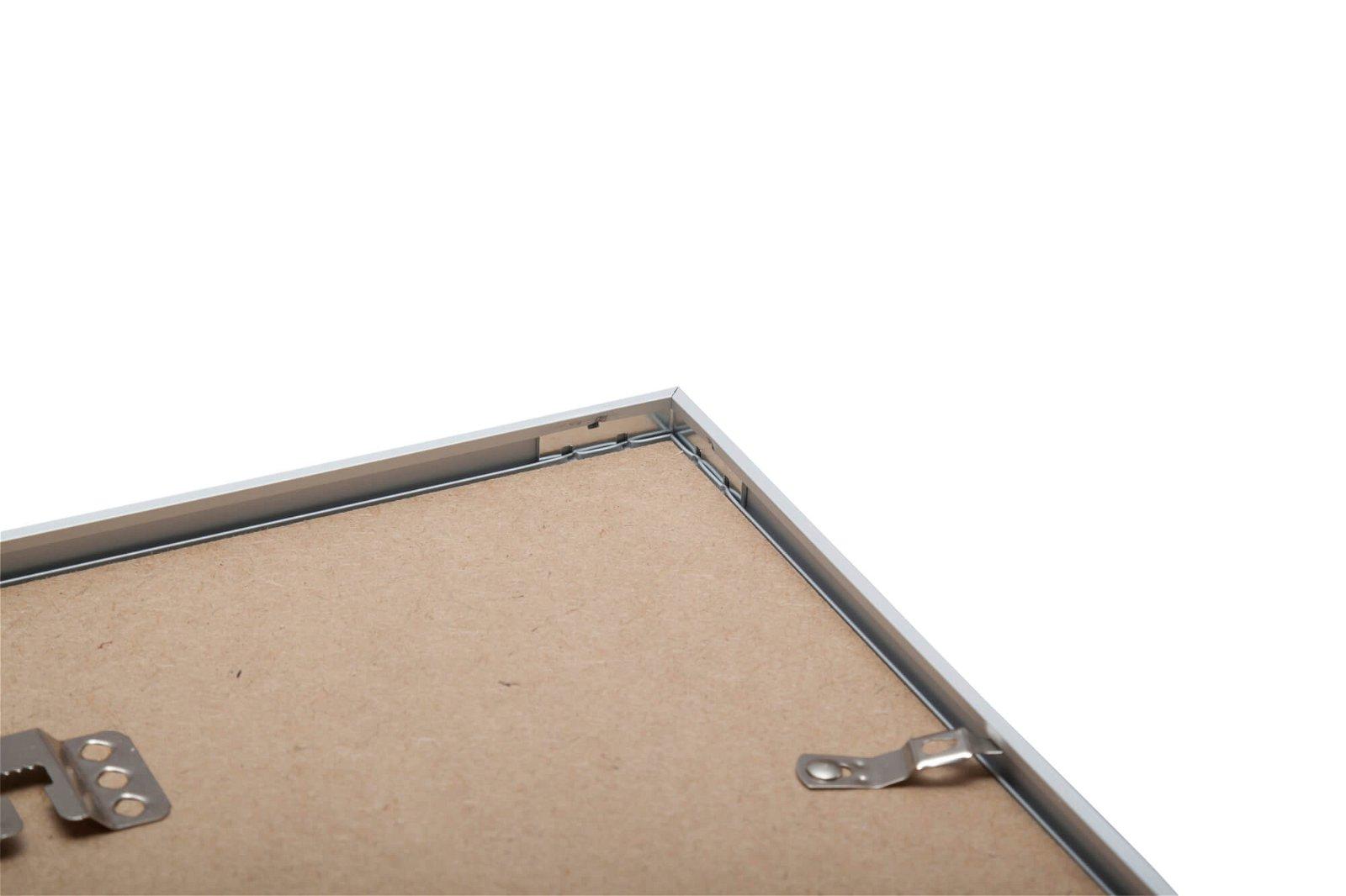 Bilderrahmen Aluminium, 70 x 100 cm