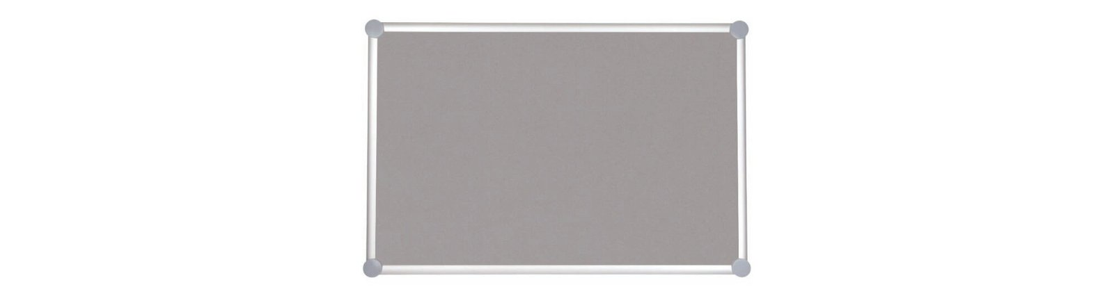 Pinnboard 2000 MAULpro, Textil, 90x120 cm, grau