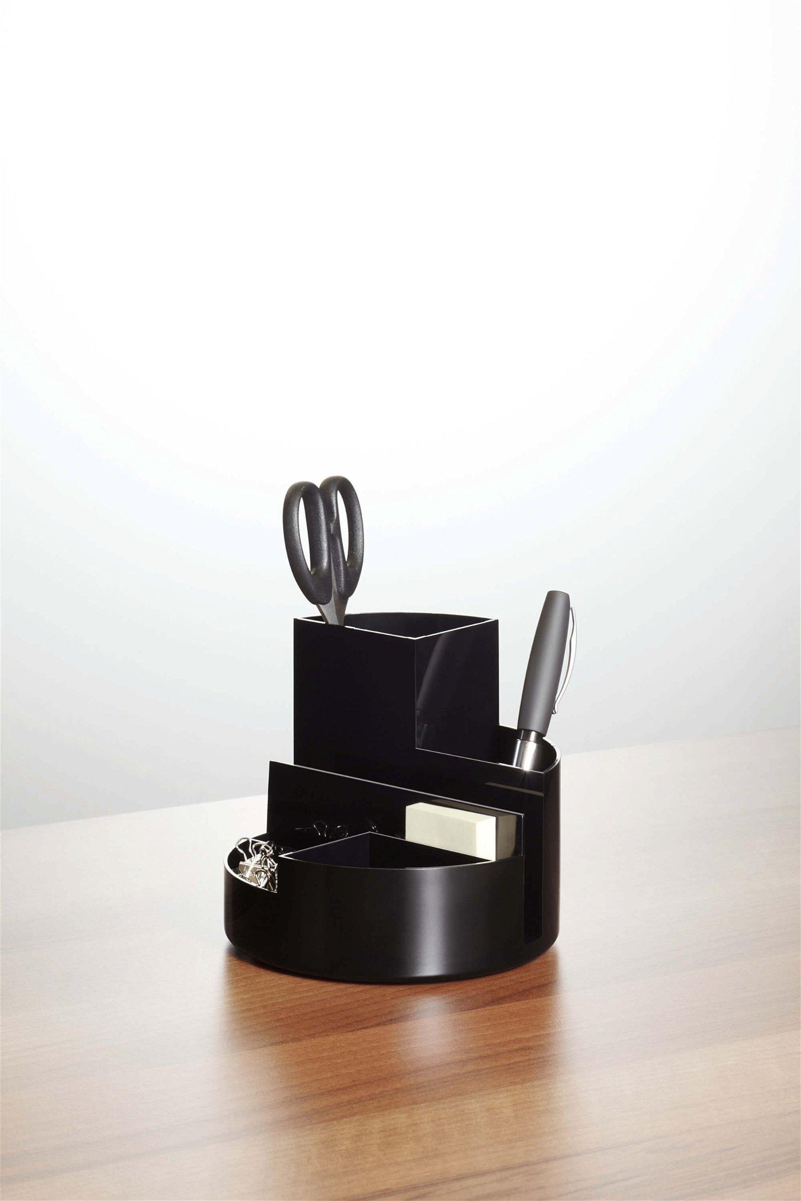 Schreibtischorganizer MAULrundbox Eco, schwarz