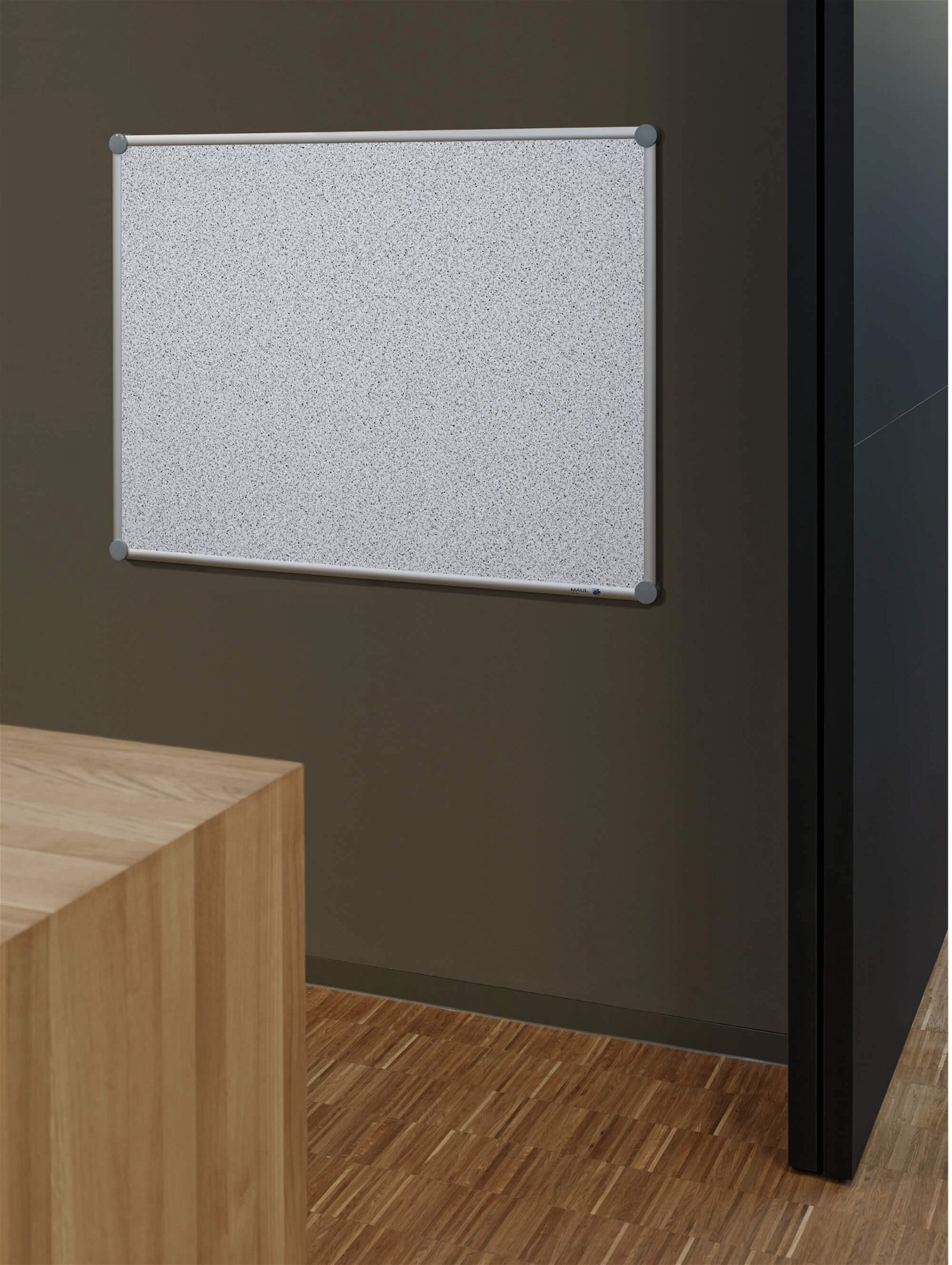 Pinnboard 2000 MAULpro, Struktur, 60x90 cm, grau