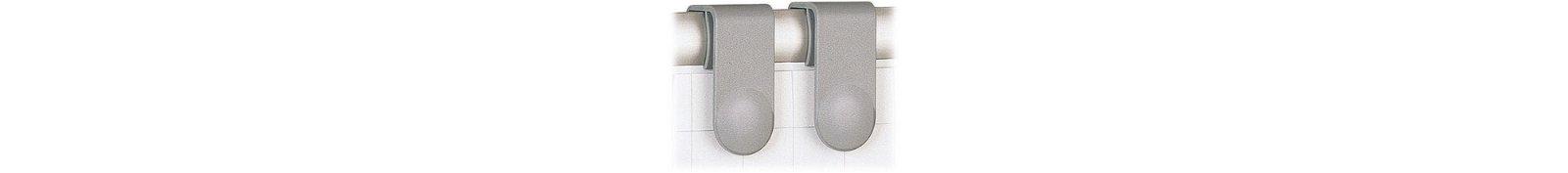 Blockhalter für Flipchart-Blocks, 2 St./Set, grau