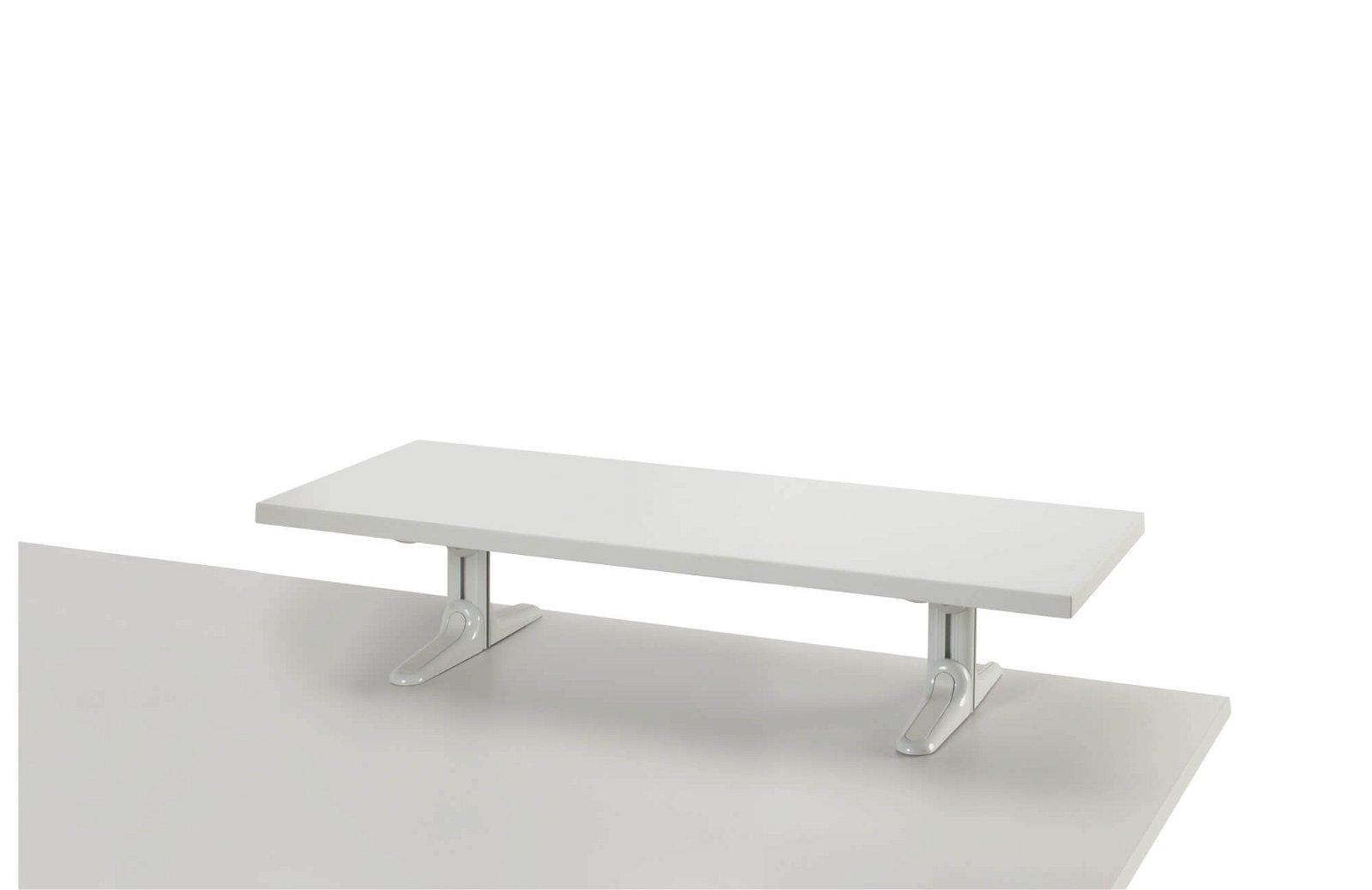 MAULboard Stehmodell, melamin- harzbeschichtet, Länge 100 cm, grau
