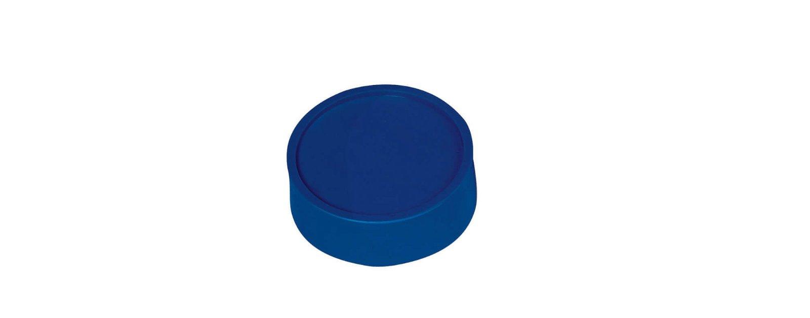 Rund-Magnet, PE Ø 34 mm, 2 kg Haftkraft, 10 St./Set, blau