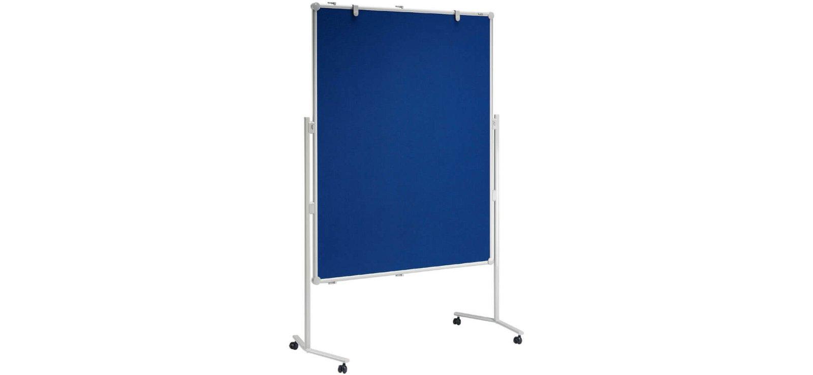 Moderationstafel MAULpro Textil/WB, 150x120 cm, grau