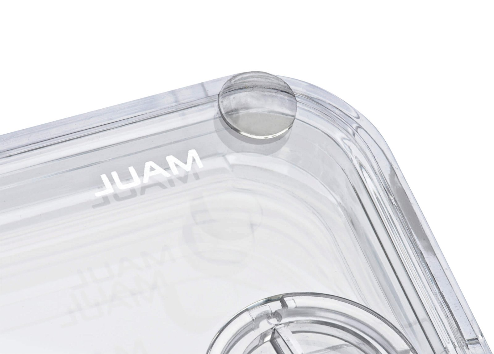 Acryl-Locher, glasklar