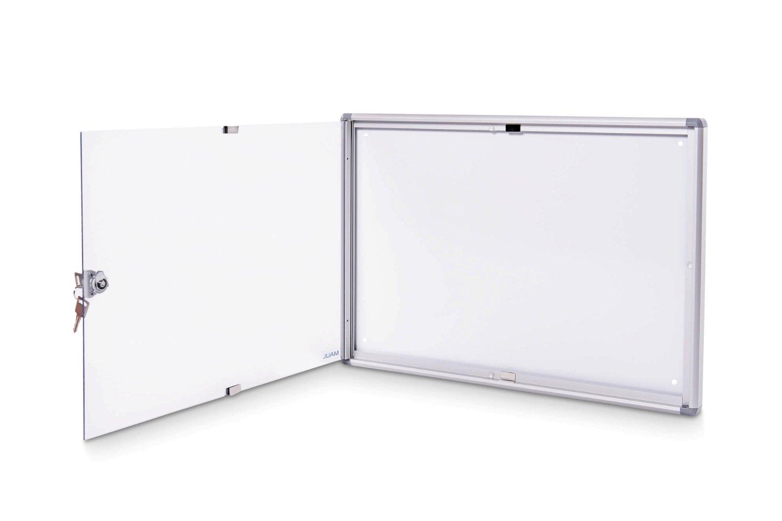 Schaukasten MAULextraslim, 2 x A4, aluminium