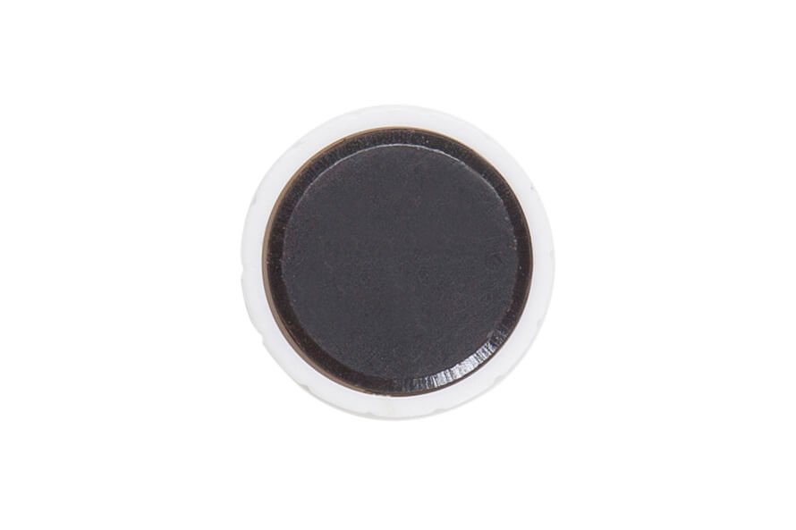 Magnet MAULsolid Ø 24 mm, 0,6 kg Haftkraft, 10 St./Ktn., weiß