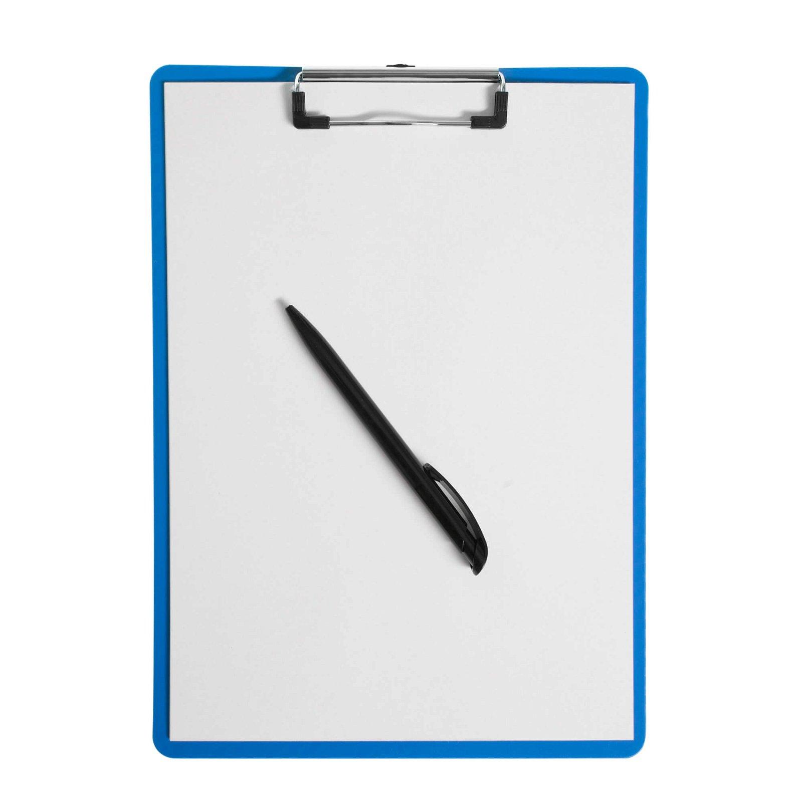 A4 Schreibplatte MAULflexx, blau