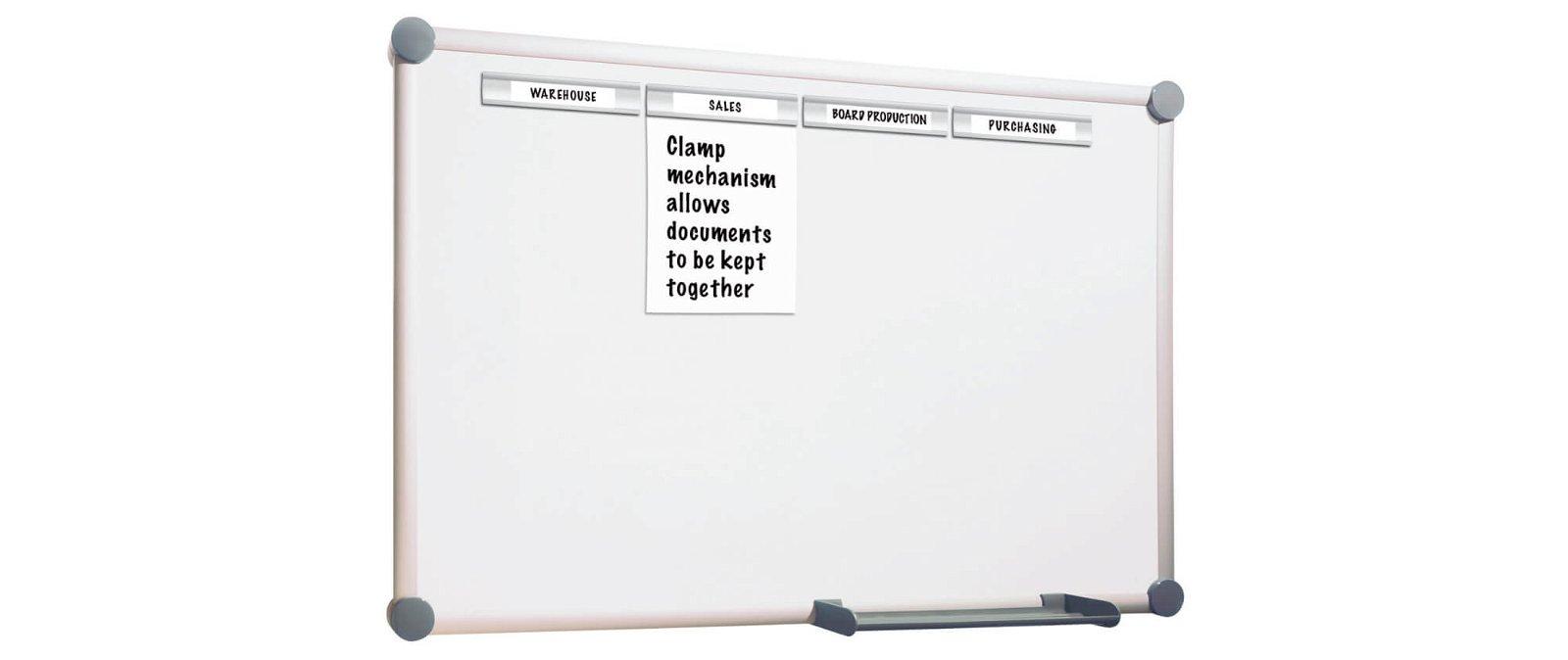 Whiteboard 2000 MAULpro, Komplett-Set plus, 90x120 cm, grau