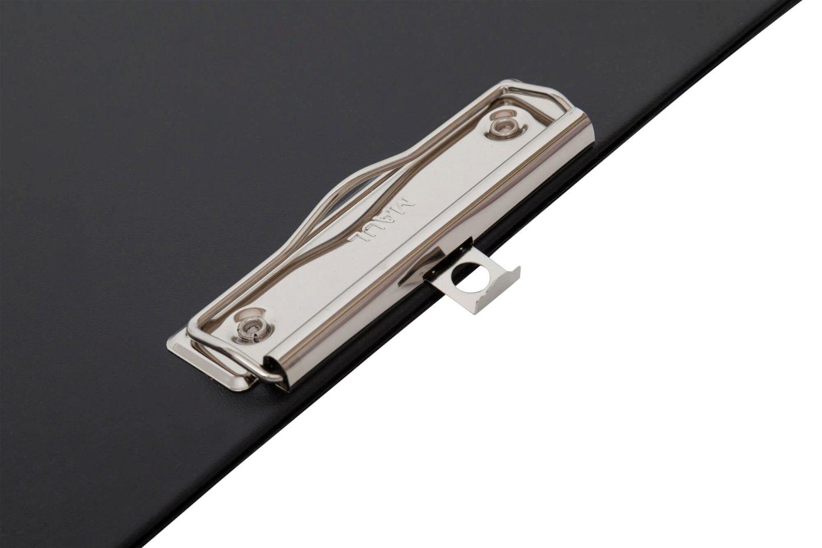 A4 Schreibplatte mit Folien- überzug, schwarz