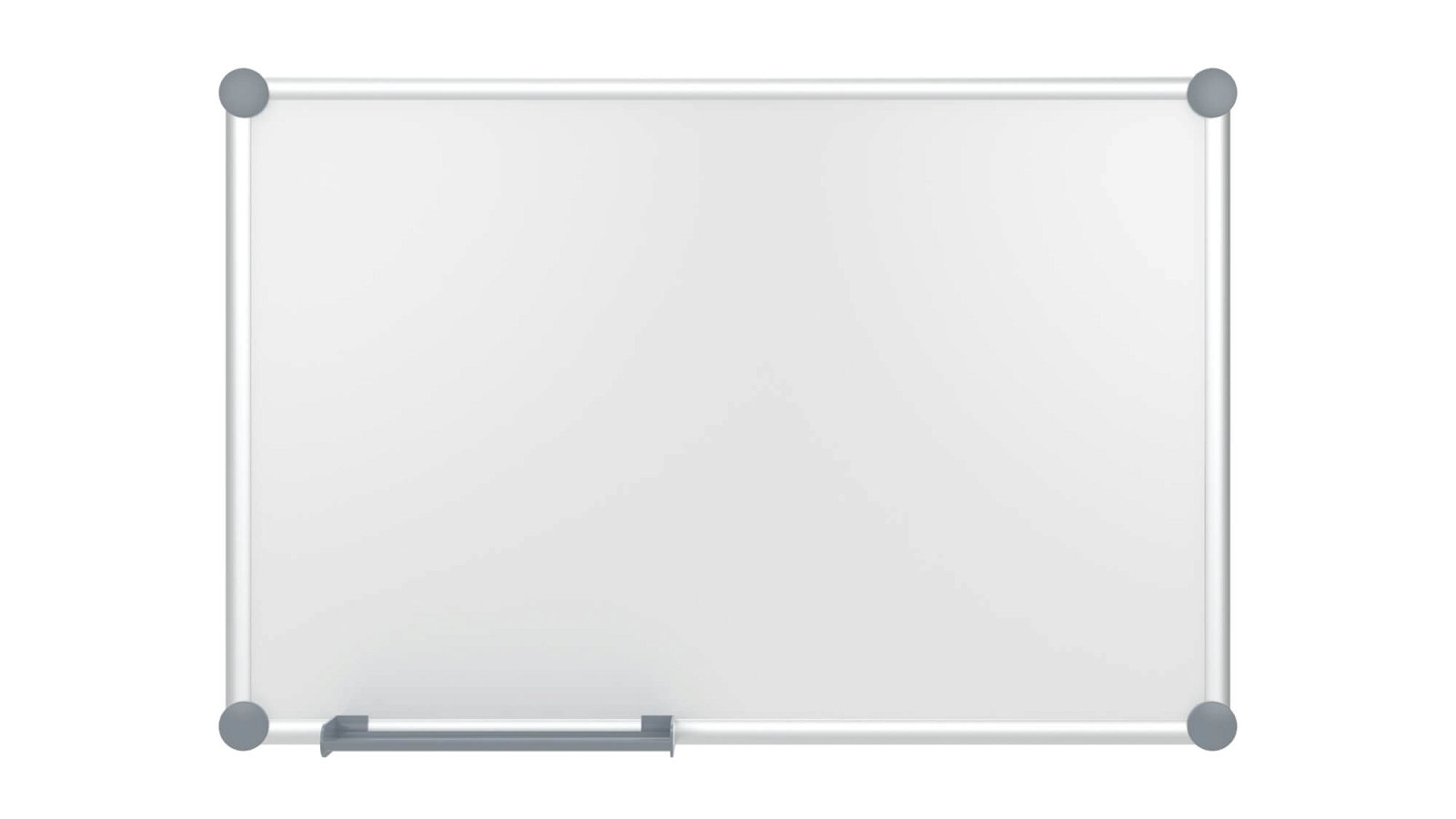 Whiteboard 2000 MAULpro, Emaille, 60x90 cm, grau