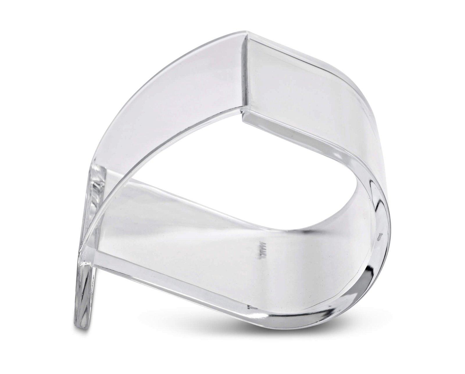 Acryl-Klammernspender, glasklar