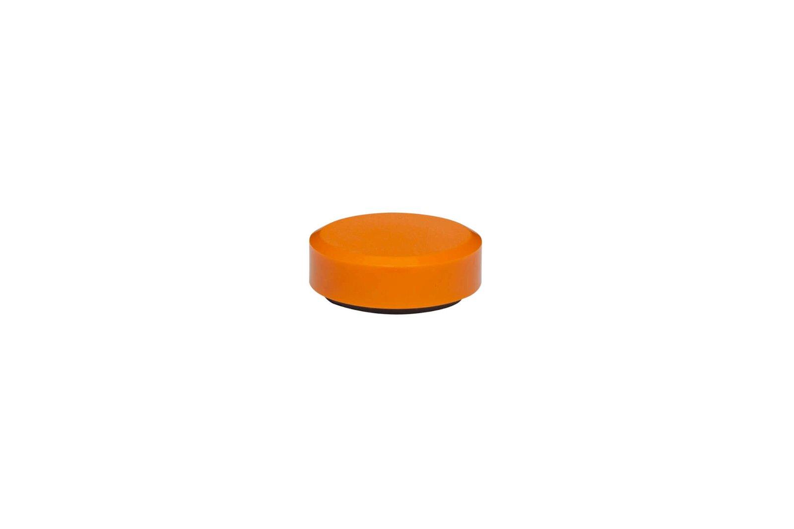 Facetterand-Magnet MAULpro Ø 30 mm, 0,6 kg, 20 St./Set, orange