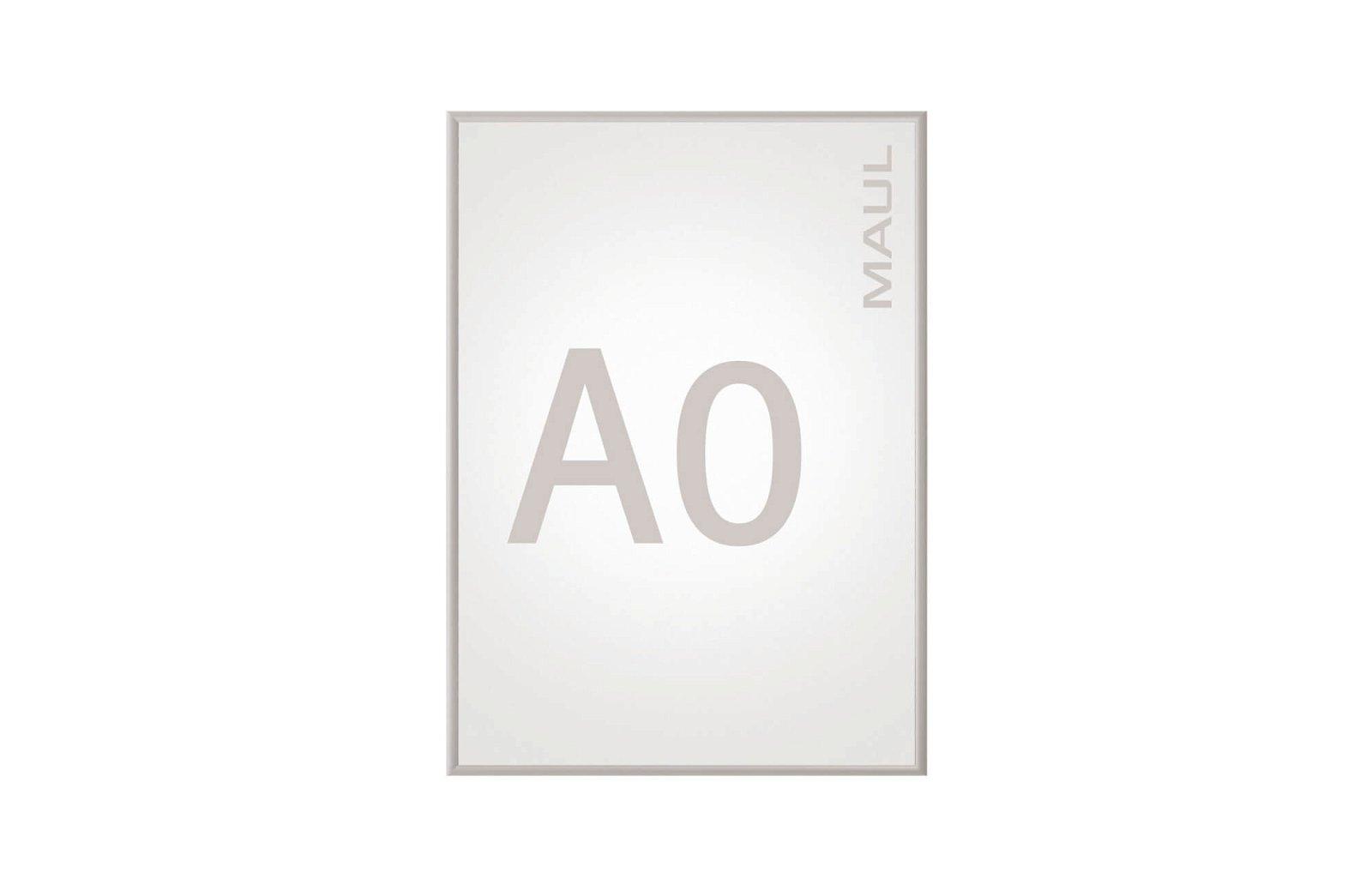 Klapprahmen MAULstandard, A0, aluminium