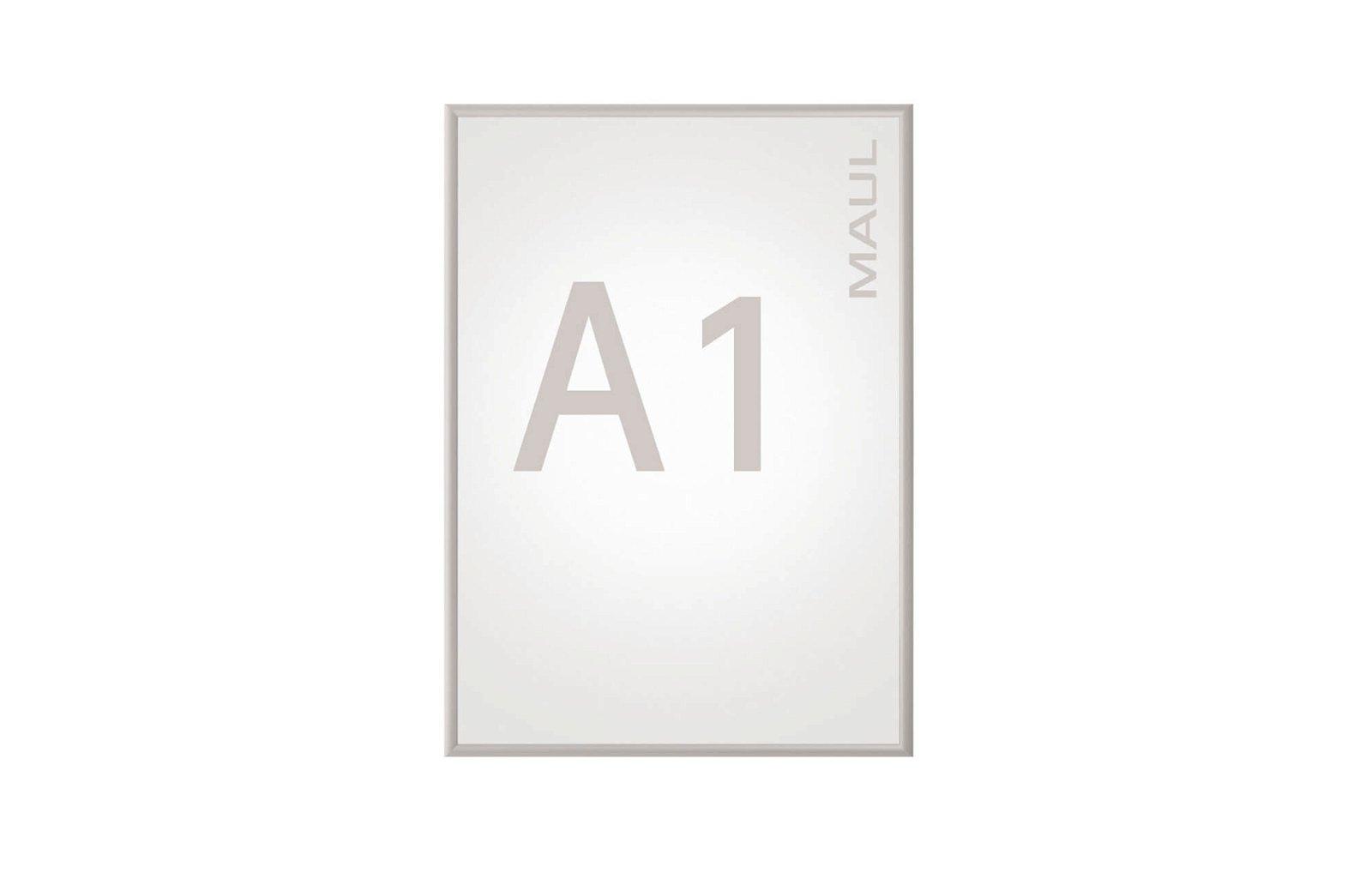 Klapprahmen MAULstandard, A1, aluminium