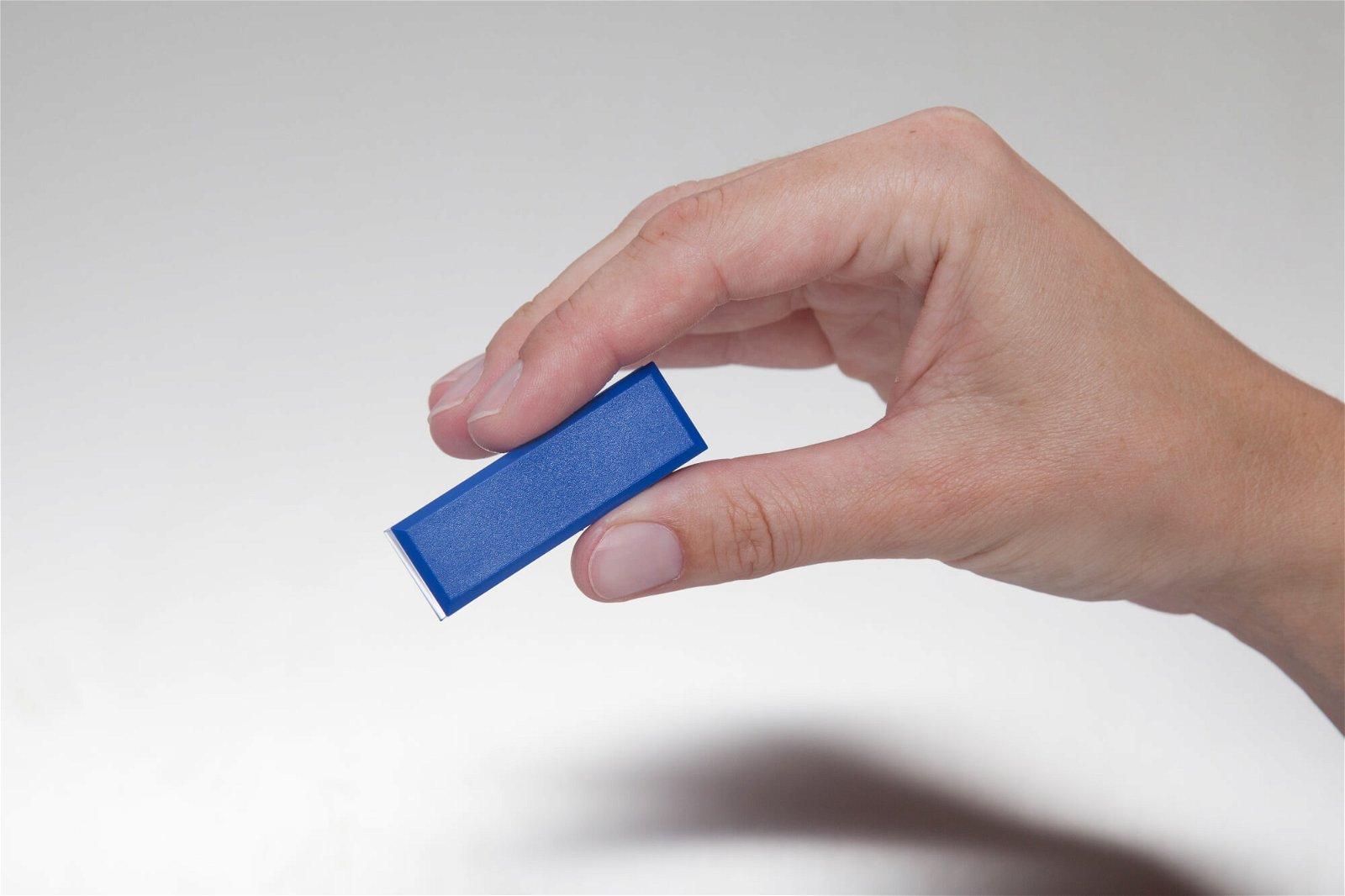 Facetterand-Magnet MAULpro 53 x 18 mm, 1 kg, 20 St./Set, blau