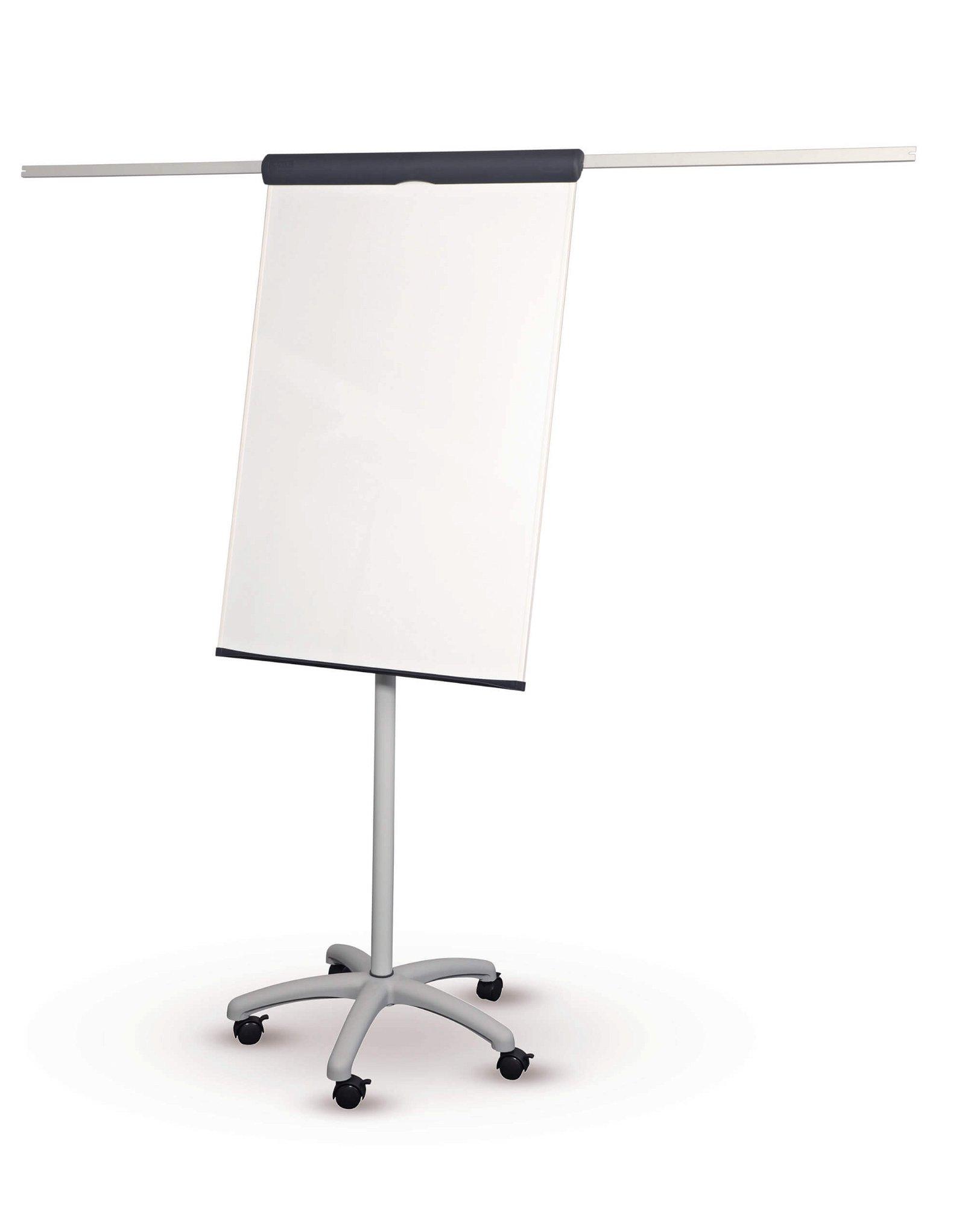 Flipchart MAULstandard, Sternfuß mit 2 Papierhaltern, grau