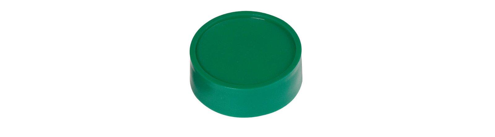 Rund-Magnet, PE Ø 34 mm, 2 kg Haftkraft, 10 St./Set, grün