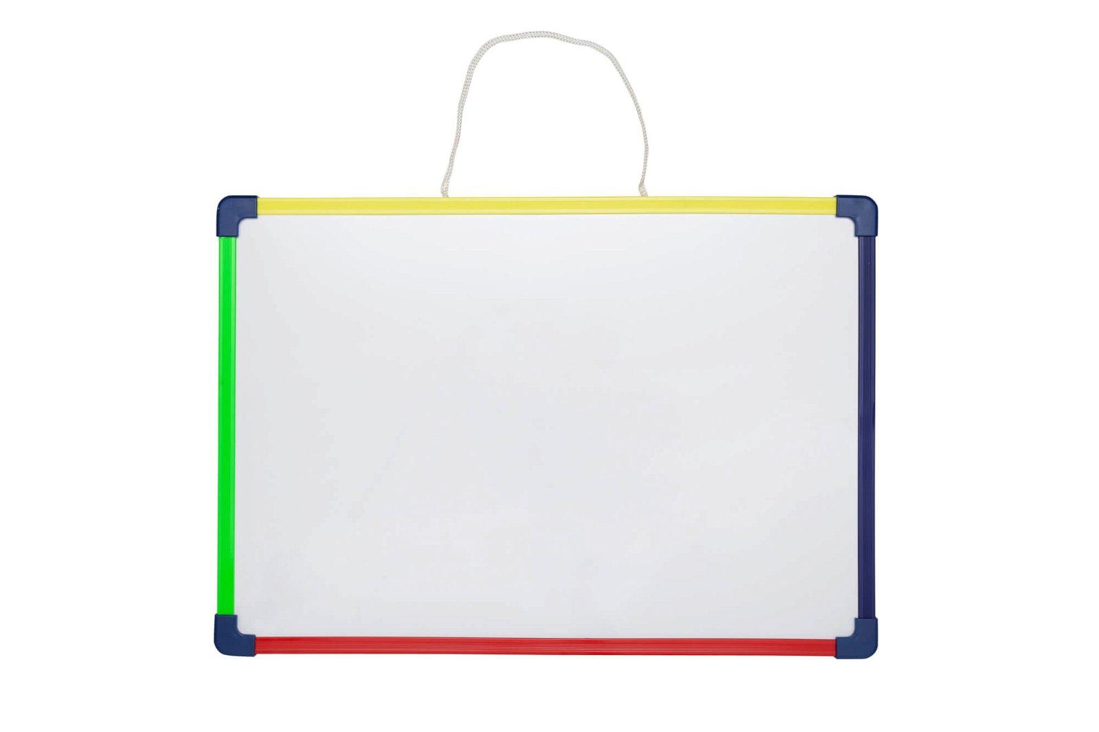 Kinder-Whiteboard, 28x40 cm,  SB-Verpackung, farbig sortiert