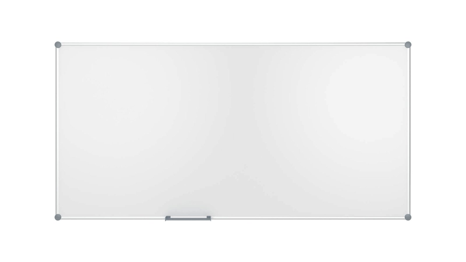Whiteboard 2000 MAULpro, Emaille, 120x240 cm, grau