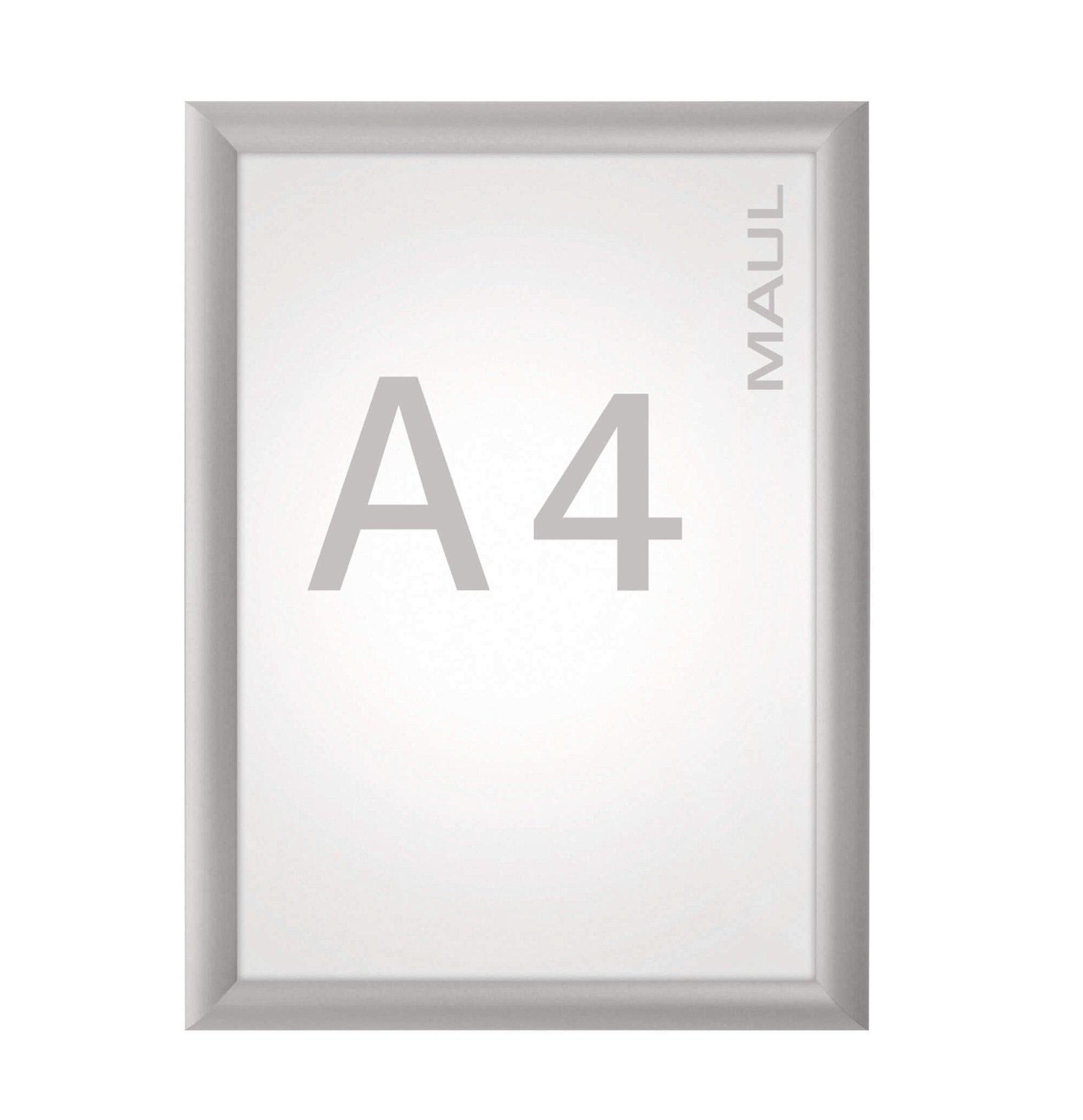 Klapprahmen MAULstandard, A4, aluminium