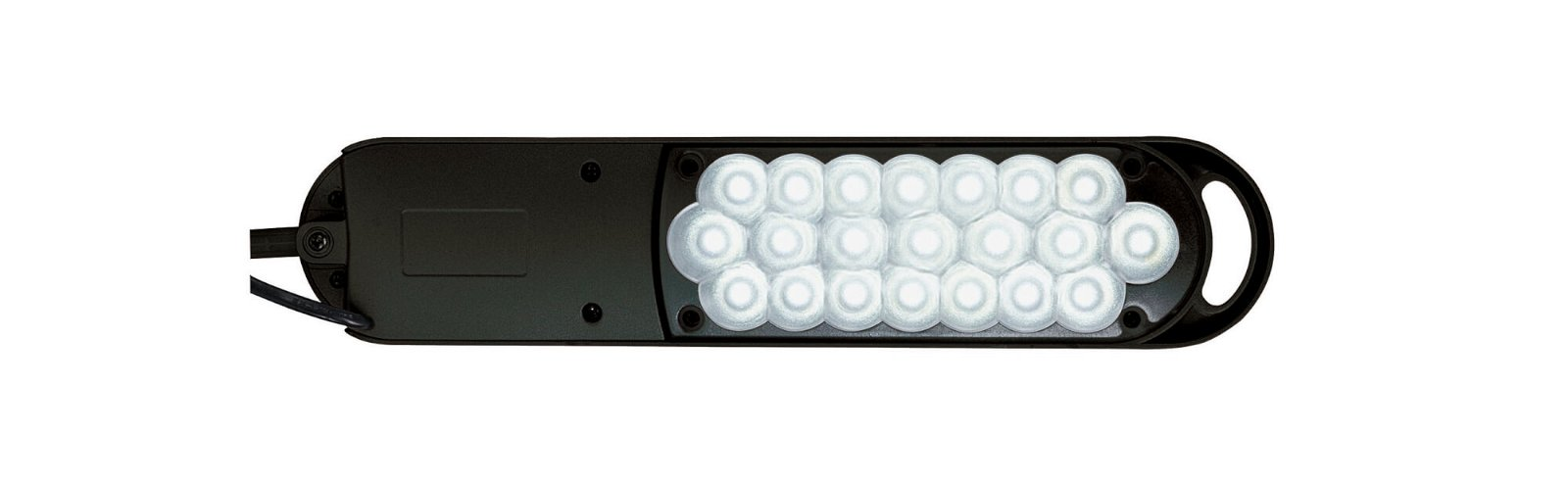 LED-Tischleuchte MAULatlantic, mit Klemmfuß, schwarz