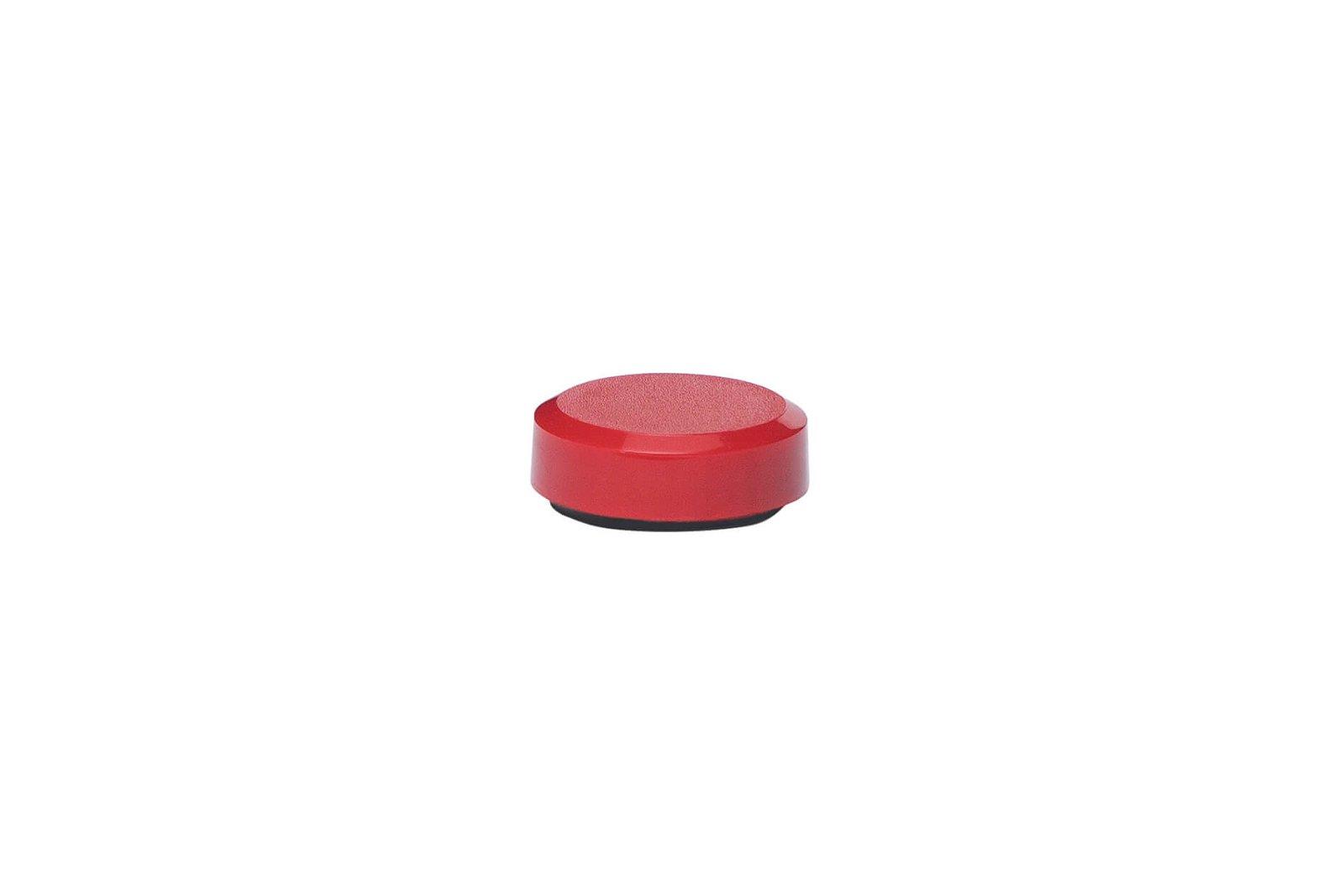 Facetterand-Magnet MAULpro Ø 20 mm, 0,3 kg, 20 St./Set, rot