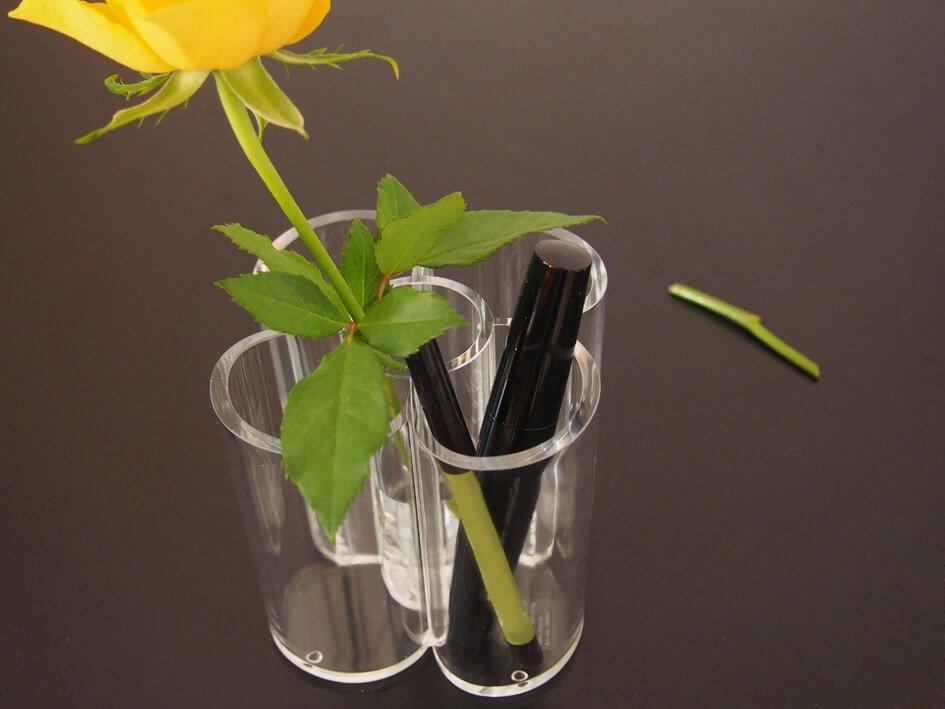 Acryl-Stifteköcher, glasklar
