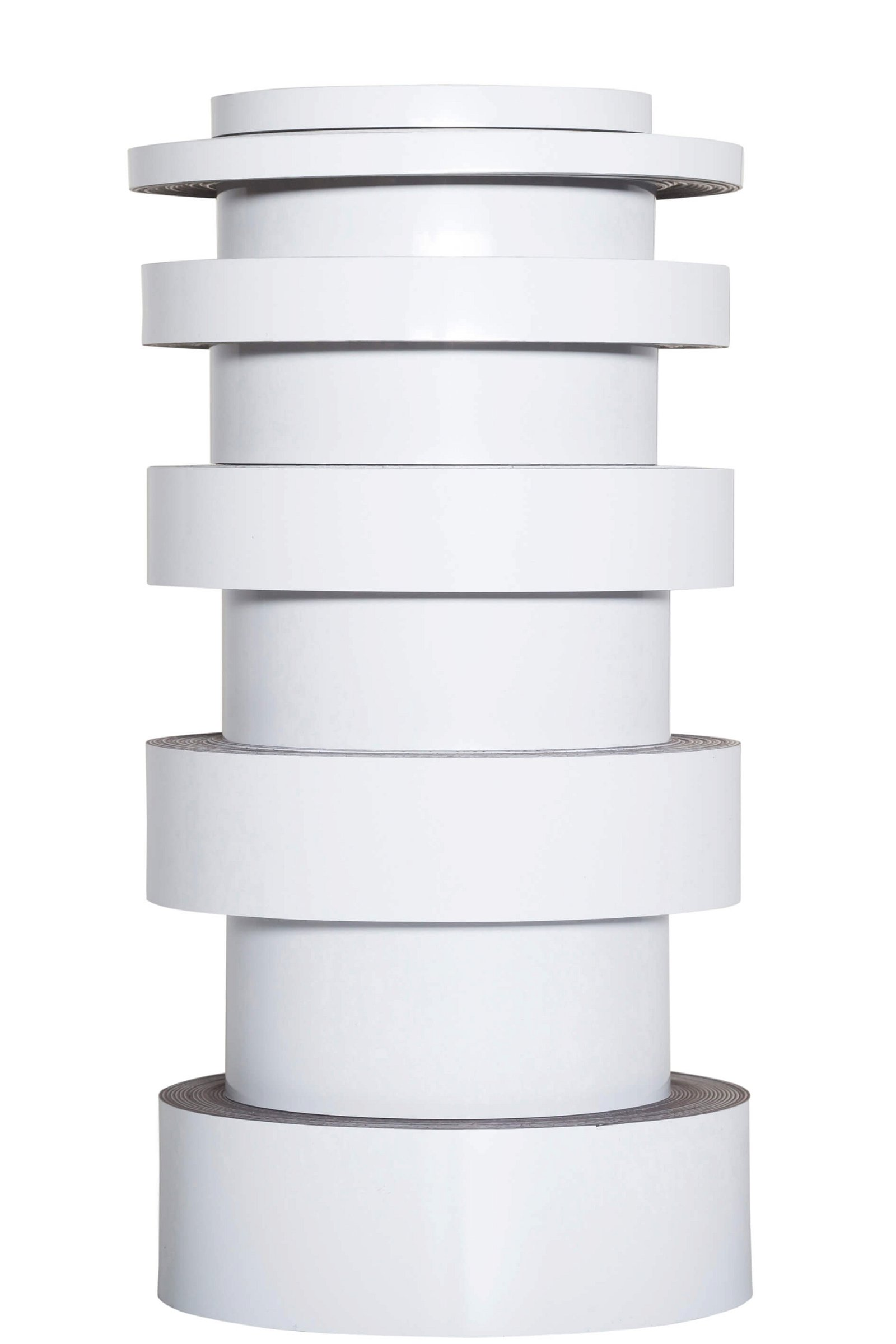 Kennzeichnungsband magnet- haftend, 3 m x 10 mm x 1 mm, weiß