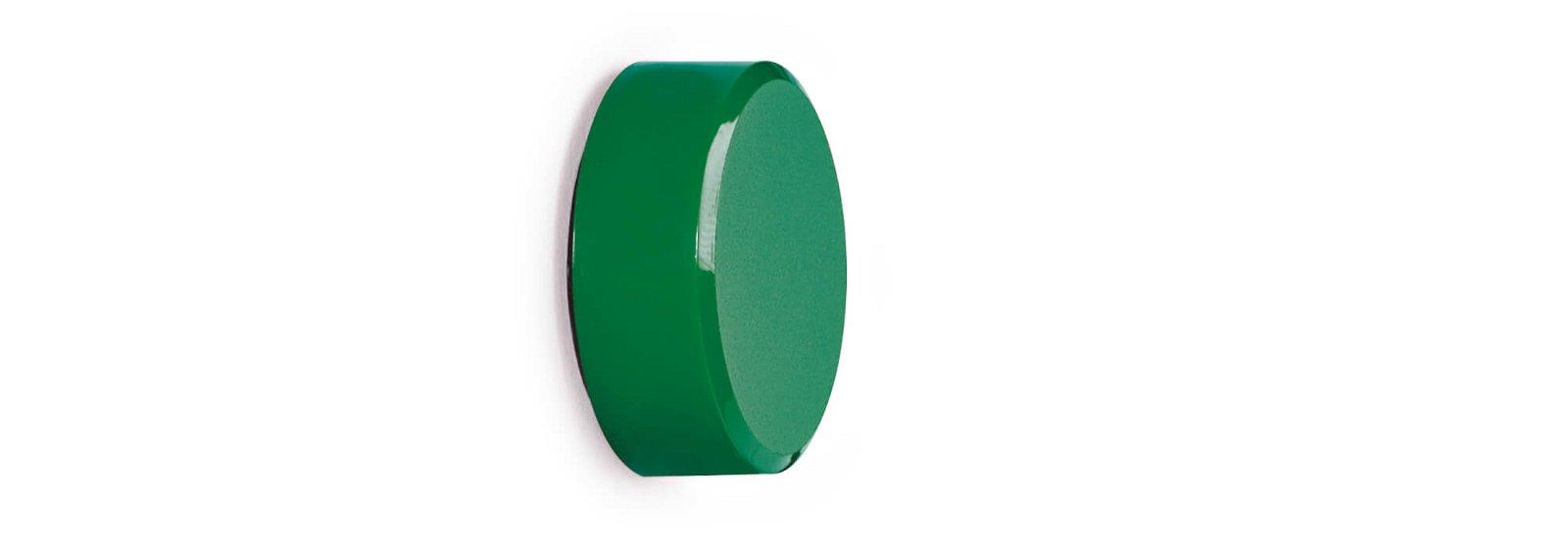 Facetterand-Magnet MAULpro Ø 34 mm, 2 kg, 20 St./Set, grün