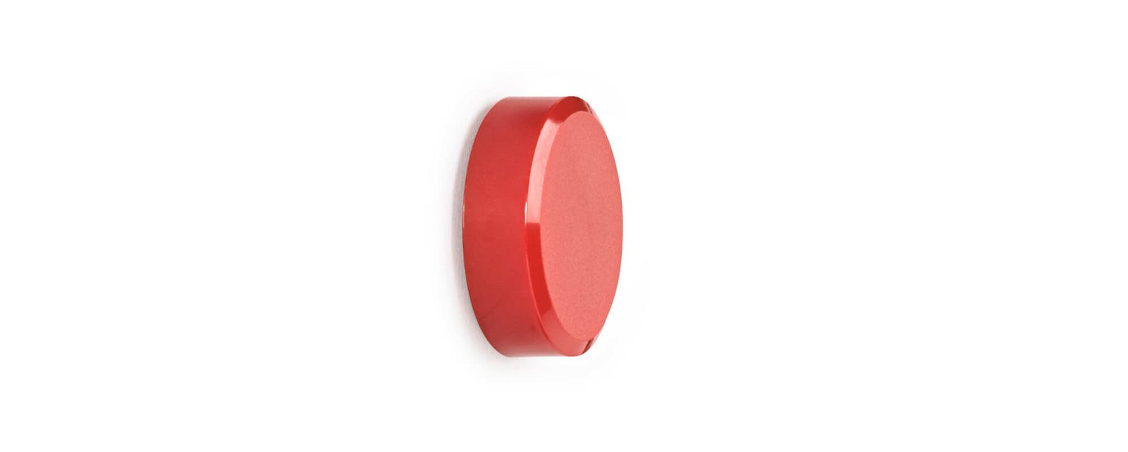 Facetterand-Magnet MAULpro SB Ø 30 mm, 0,6 kg, 4 St./Set, rot