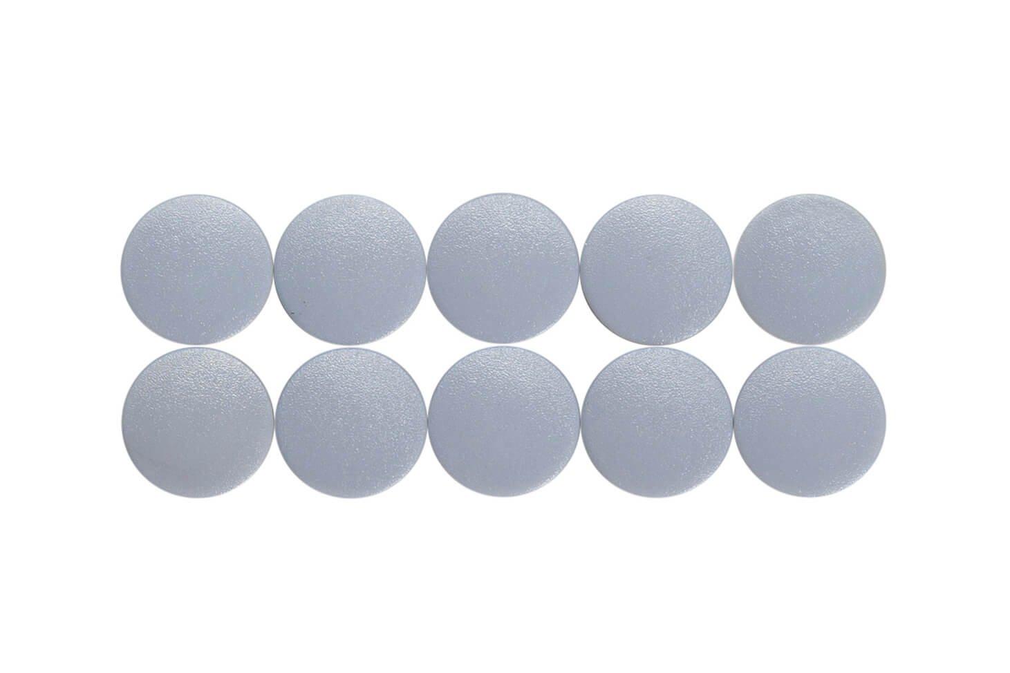 Magnet MAULsolid Ø 15 mm, 0,15 kg Haftkraft, 10 St/Ktn., grau