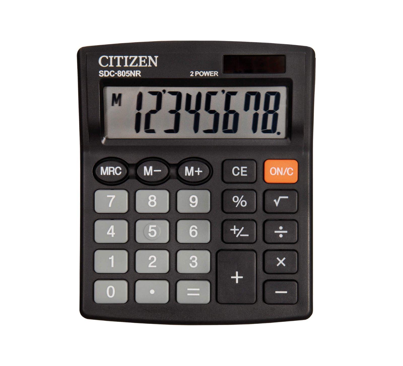 Semi-Tischrechner 805NR