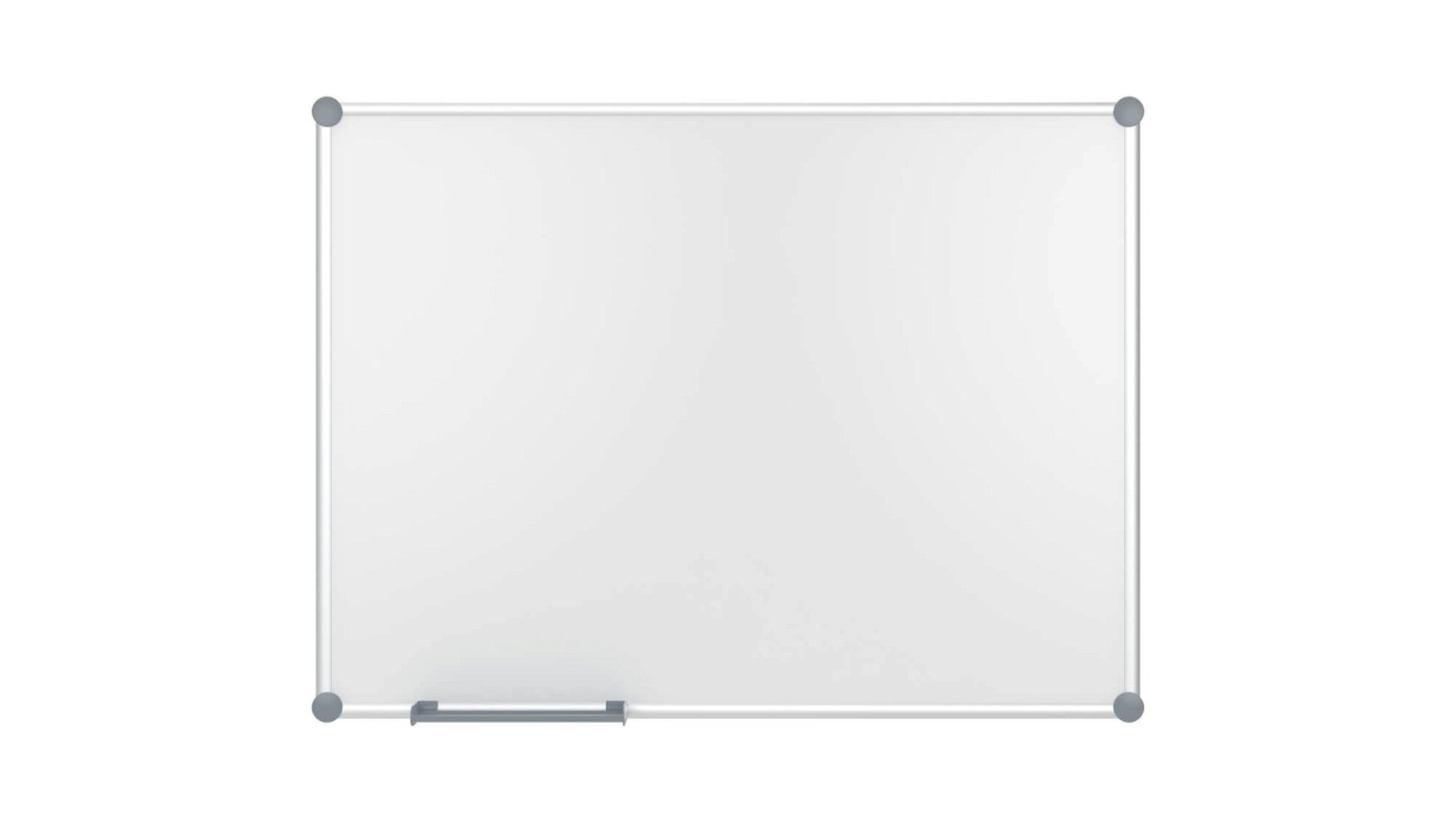 Whiteboard 2000 MAULpro, Emaille, 90x120 cm, grau