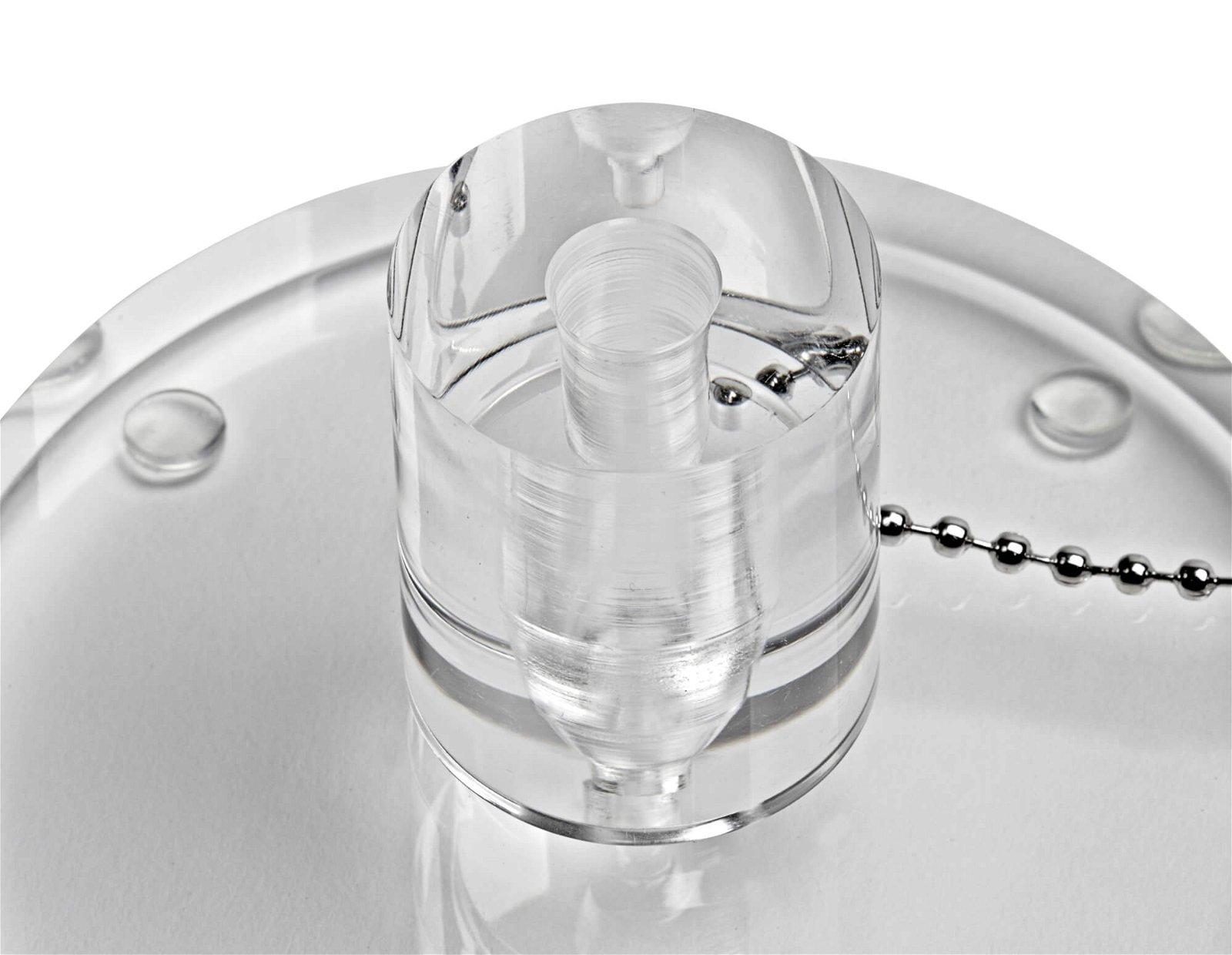 Acryl-Kuliständer, glasklar
