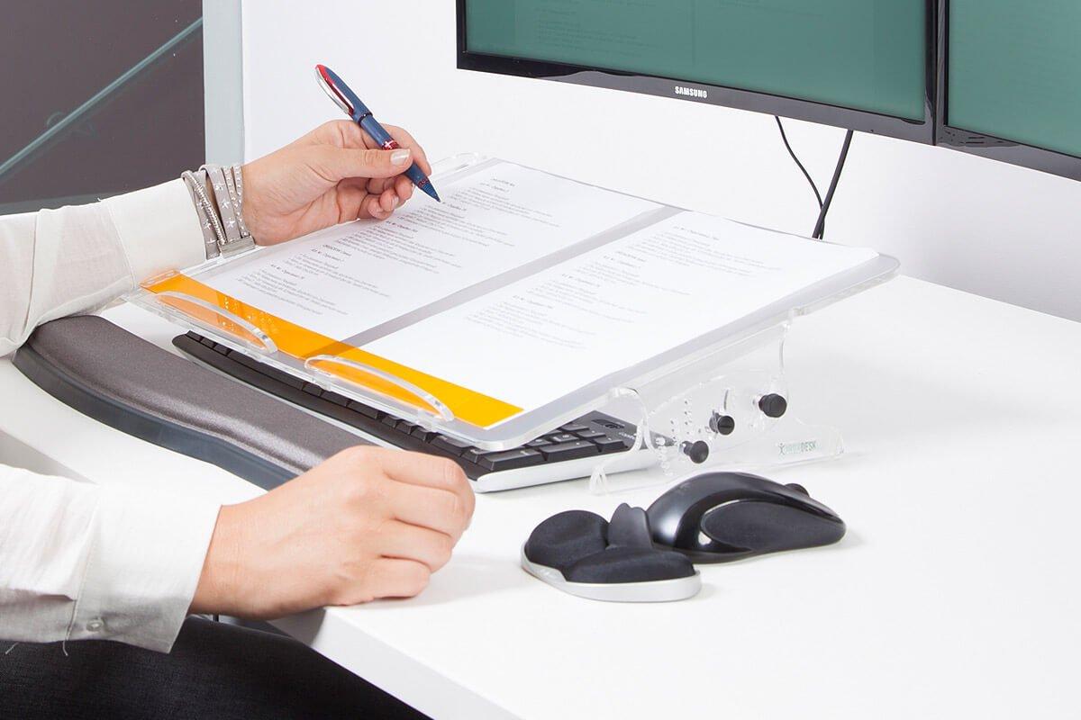 Orgadesk Flex TR, ergonomischer Dokumentenhalter