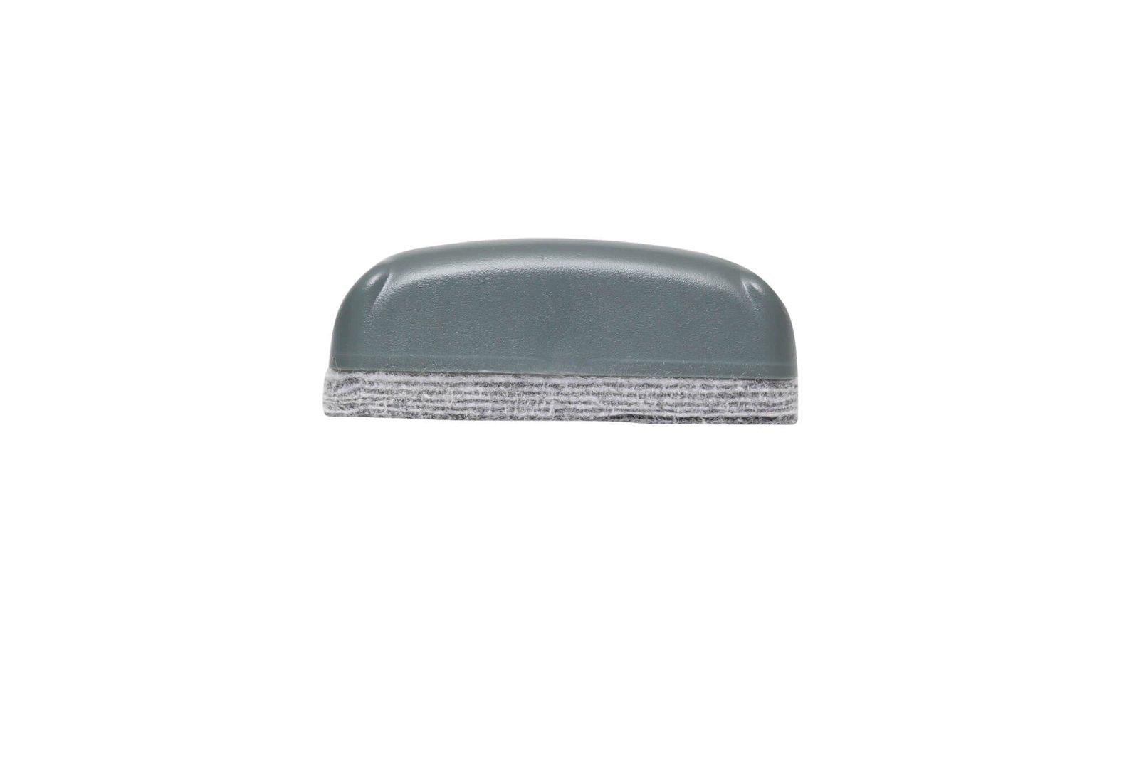 Tafelwischer, 12-lagiges Vlies, 9,4 x 4,9 cm, grau