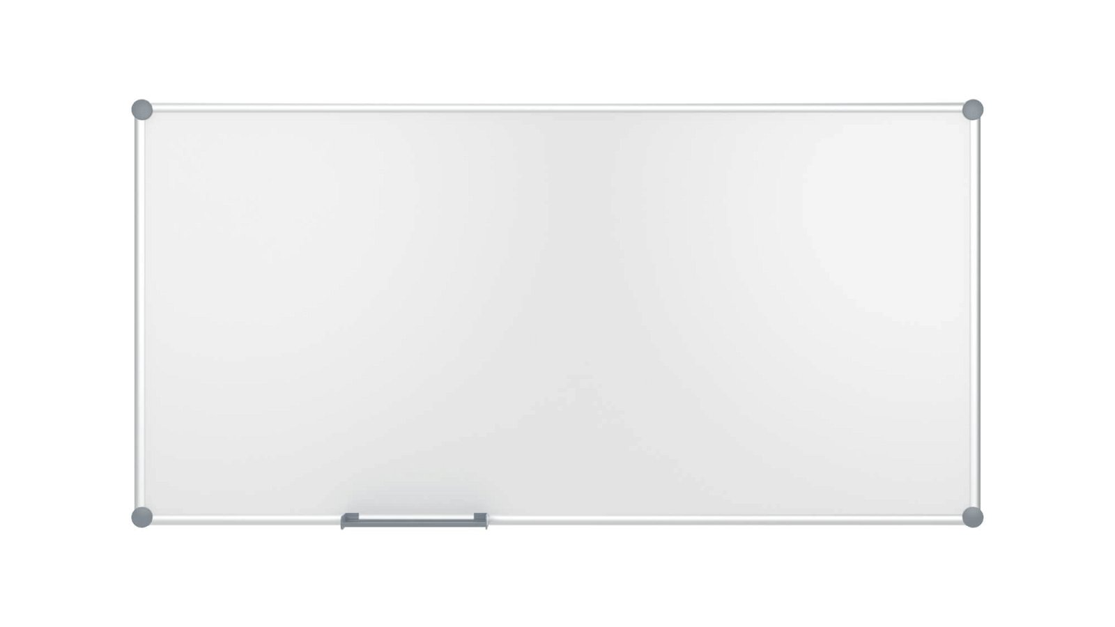 Whiteboard 2000 MAULpro, Emaille, 90x180 cm, grau