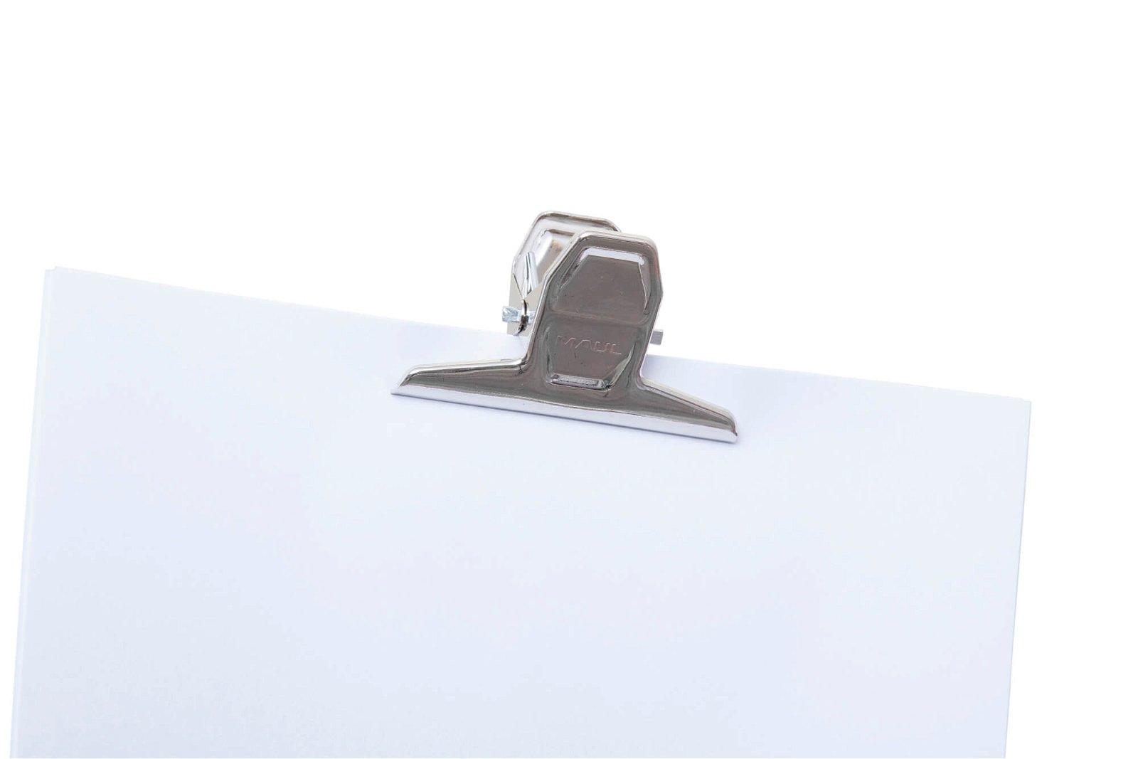 Brief-Klemmer MAULpro, Breite 75 mm, hellsilber