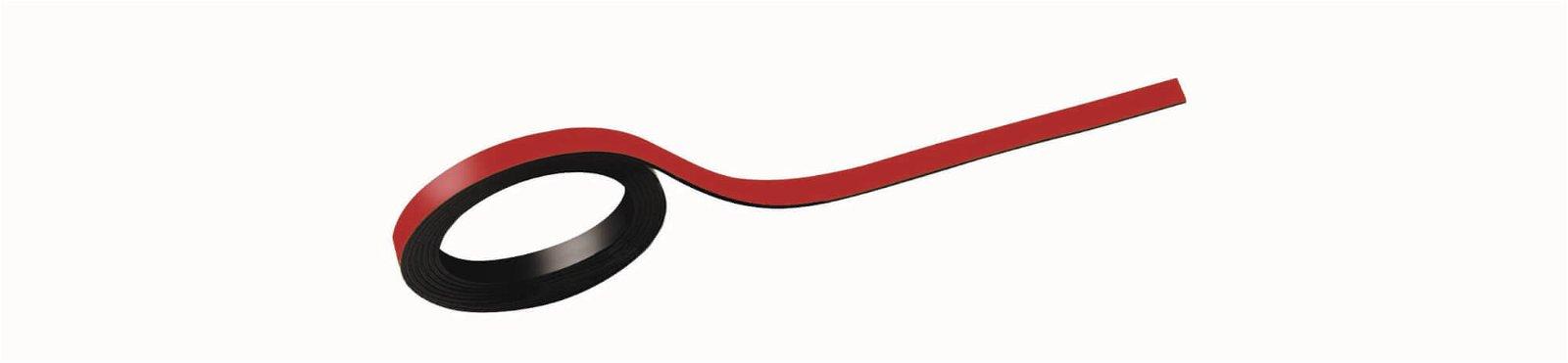 Magnetstreifen, 0,5x100 cm, 2 St./Set, rot