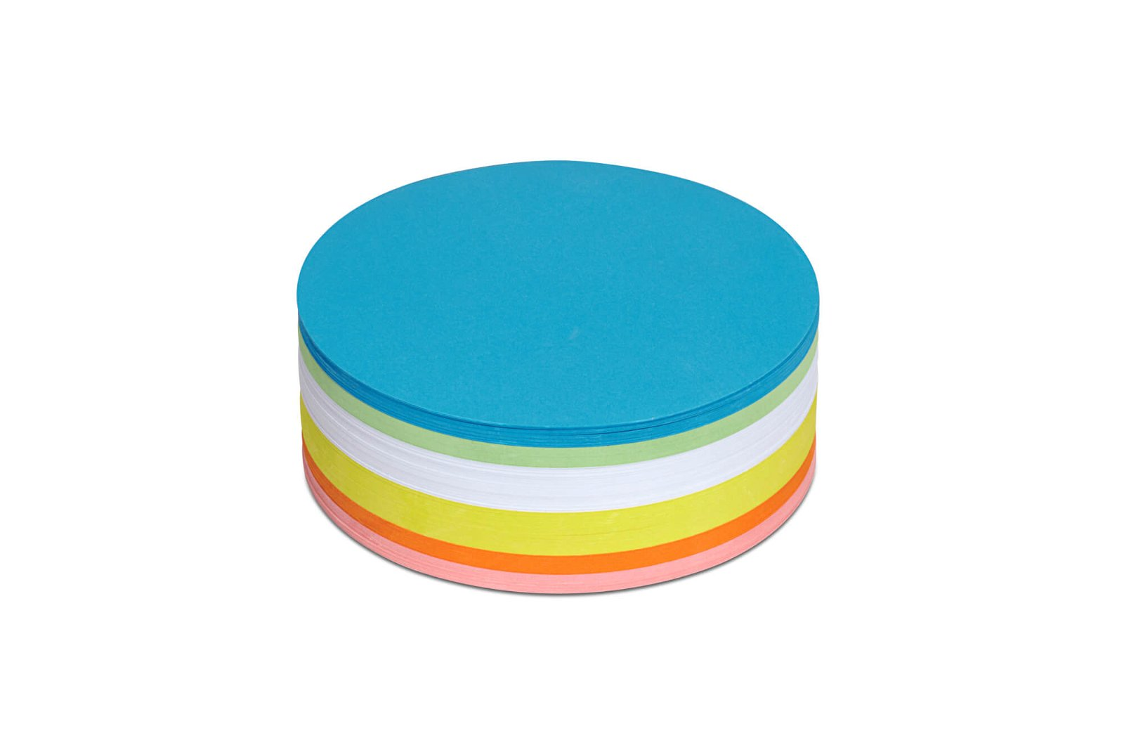 Moderationskarten rund, Ø 13,5 cm, 250 St./Pack, farbig sortiert