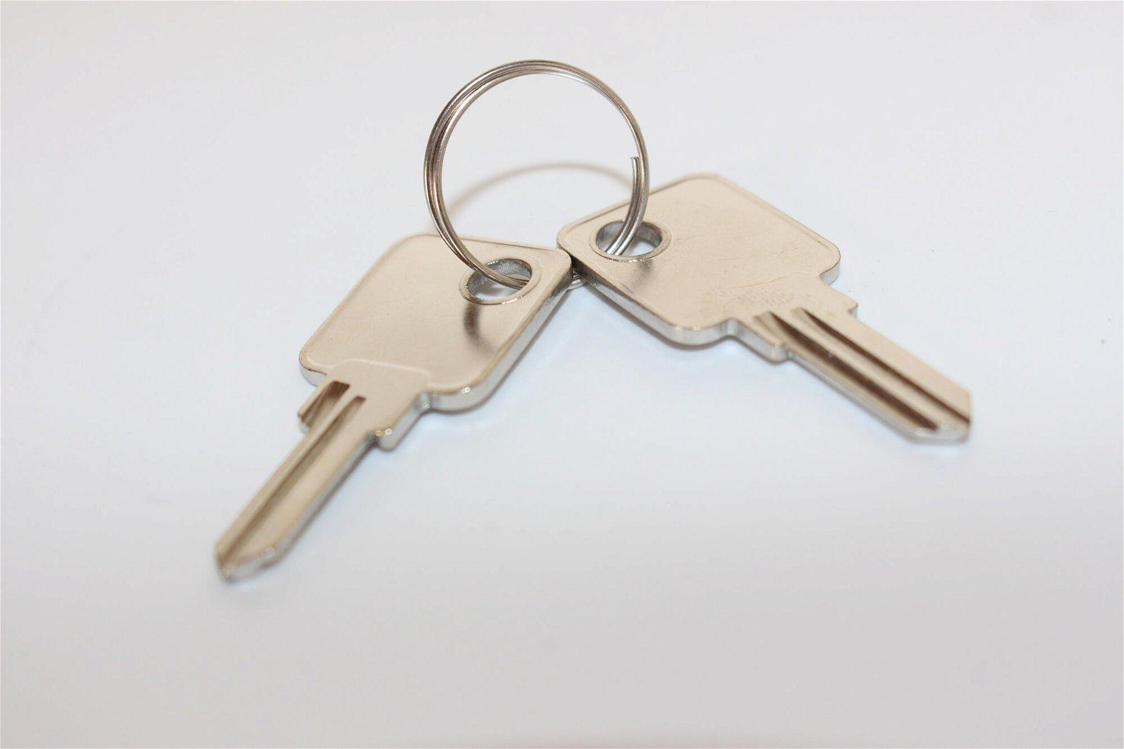 Schlüssel-Rohlinge für Geldkassette 561.. (VE 1Stück), sonstige