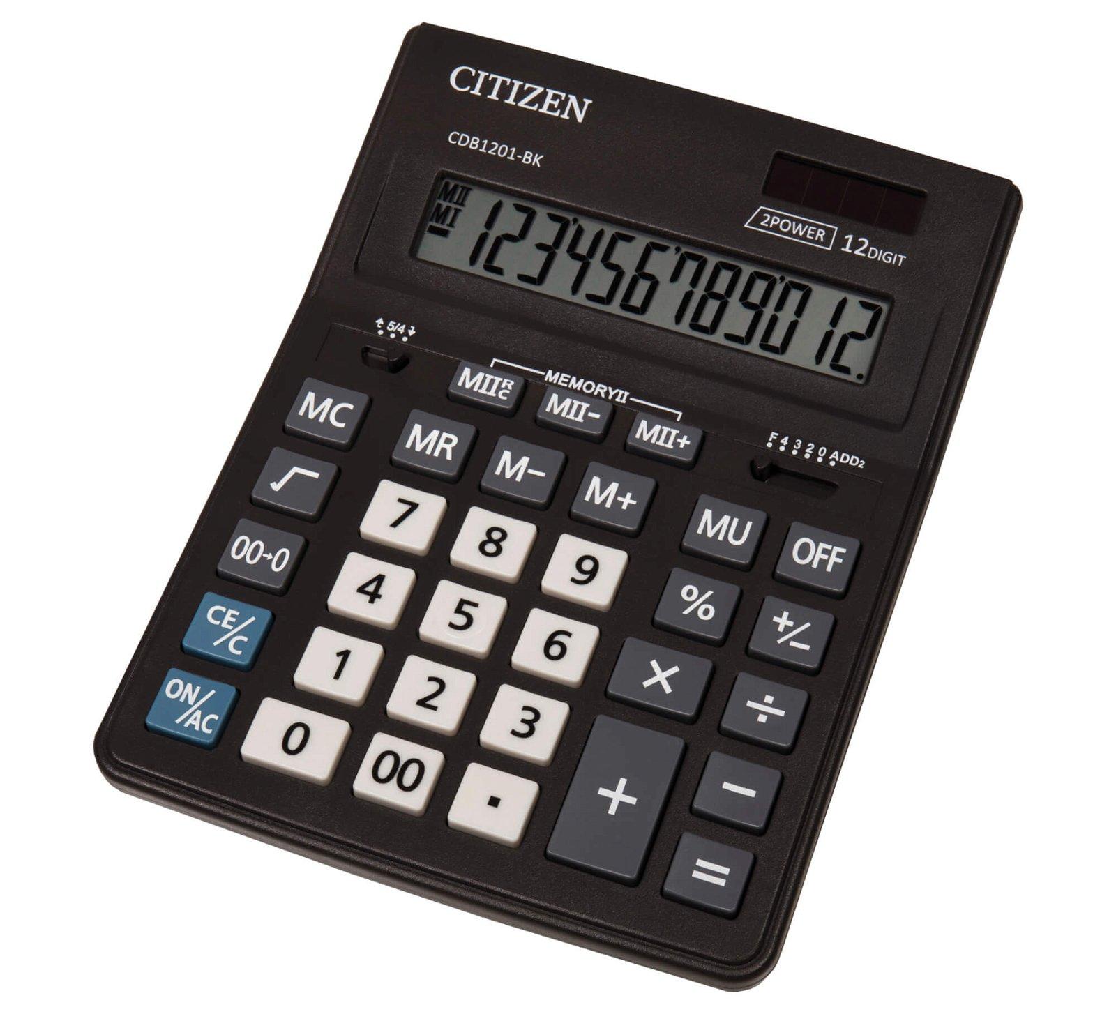 Tischrechner CDB1201-BK