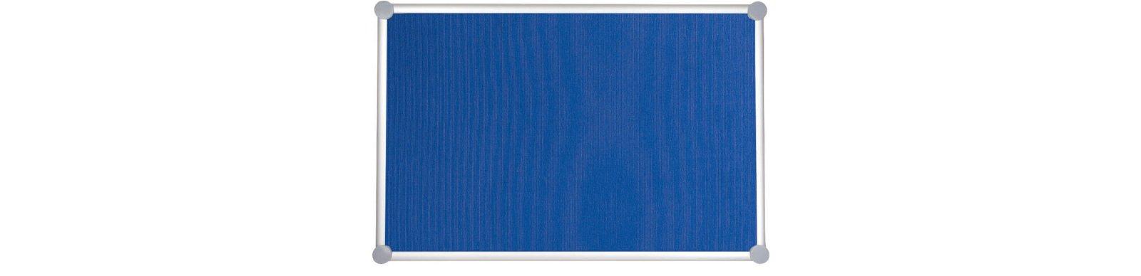 Pinnboard 2000 MAULpro, Textil, 90x180 cm, blau