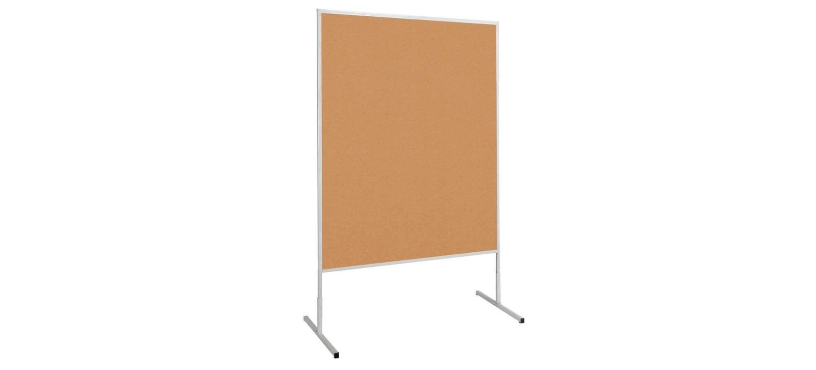 Moderationstafel MAULstandard Kork, 150x120 cm, grau