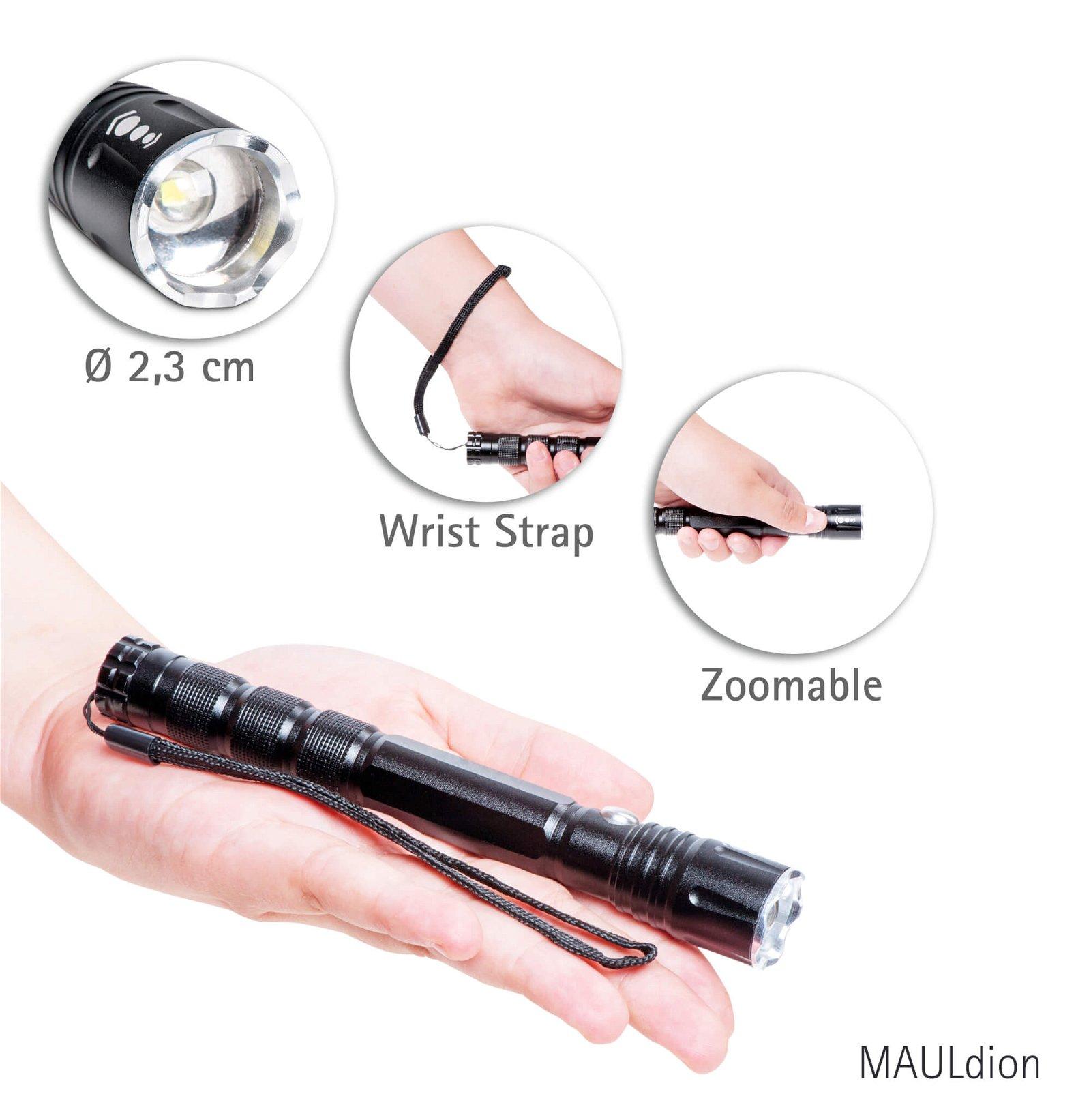 LED-Taschenlampe MAULdion Info