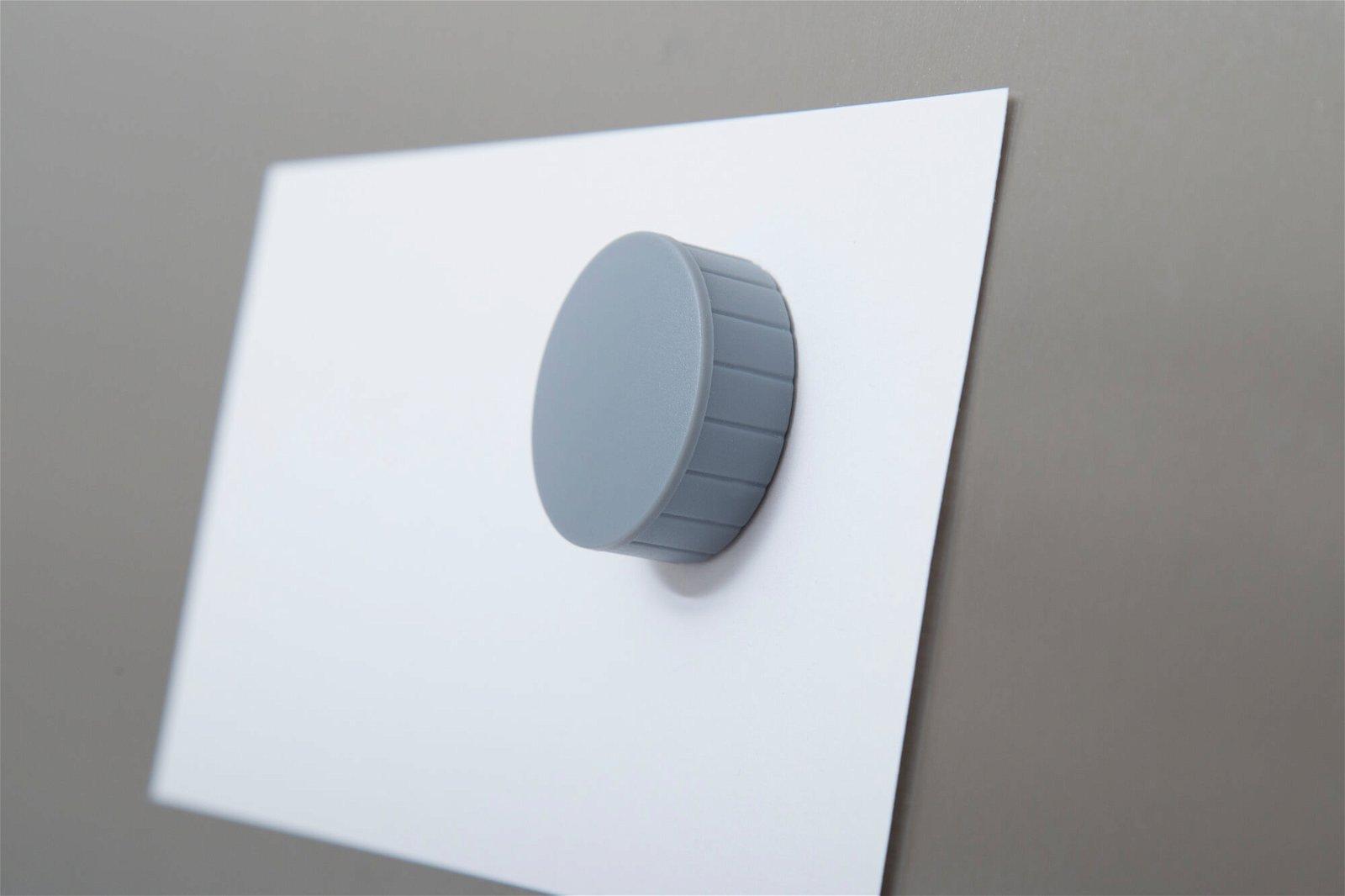Magnet MAULsolid Ø 38 mm, 2,5 kg Haftkraft, 10 St./Ktn., grau