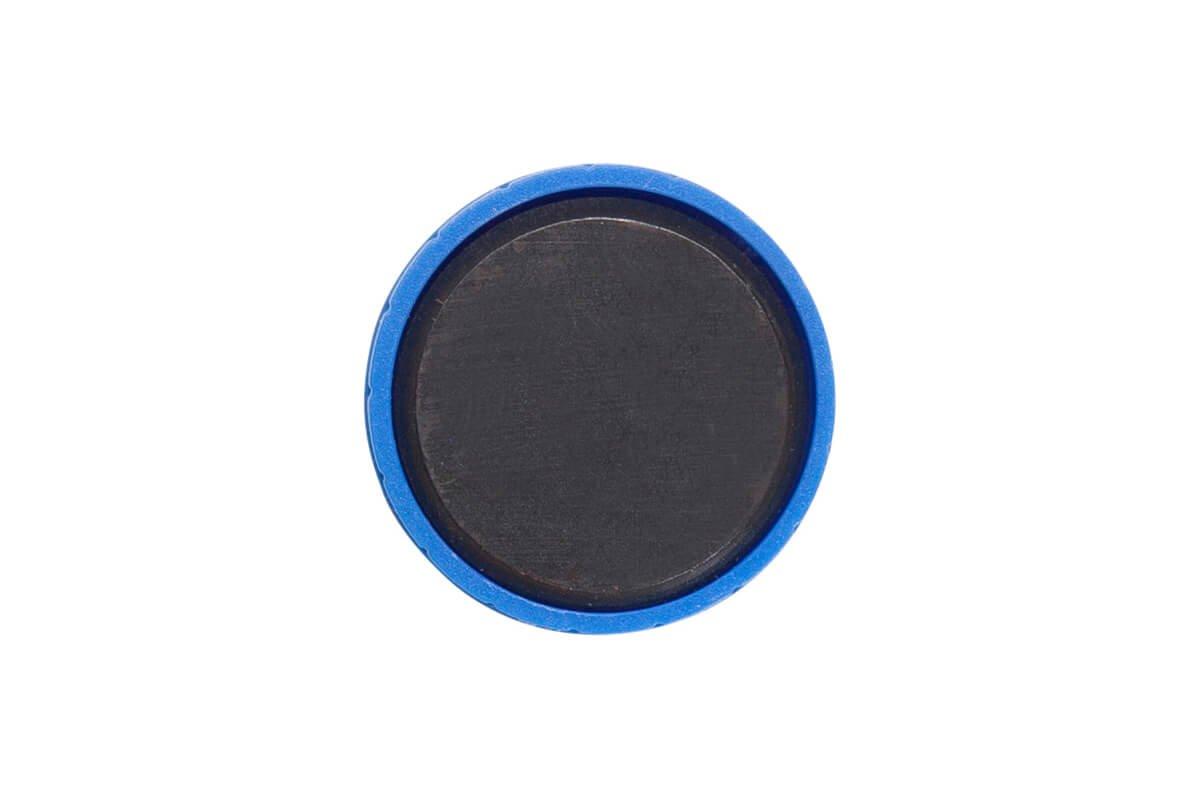 Magnet MAULsolid Ø 32 mm, 0,8 kg Haftkraft, 10 St./Ktn., blau