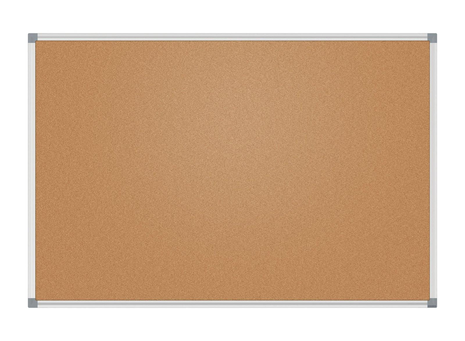 Pinnboard MAULstandard, 90x120 cm, Kork, SB-Verpackung, grau